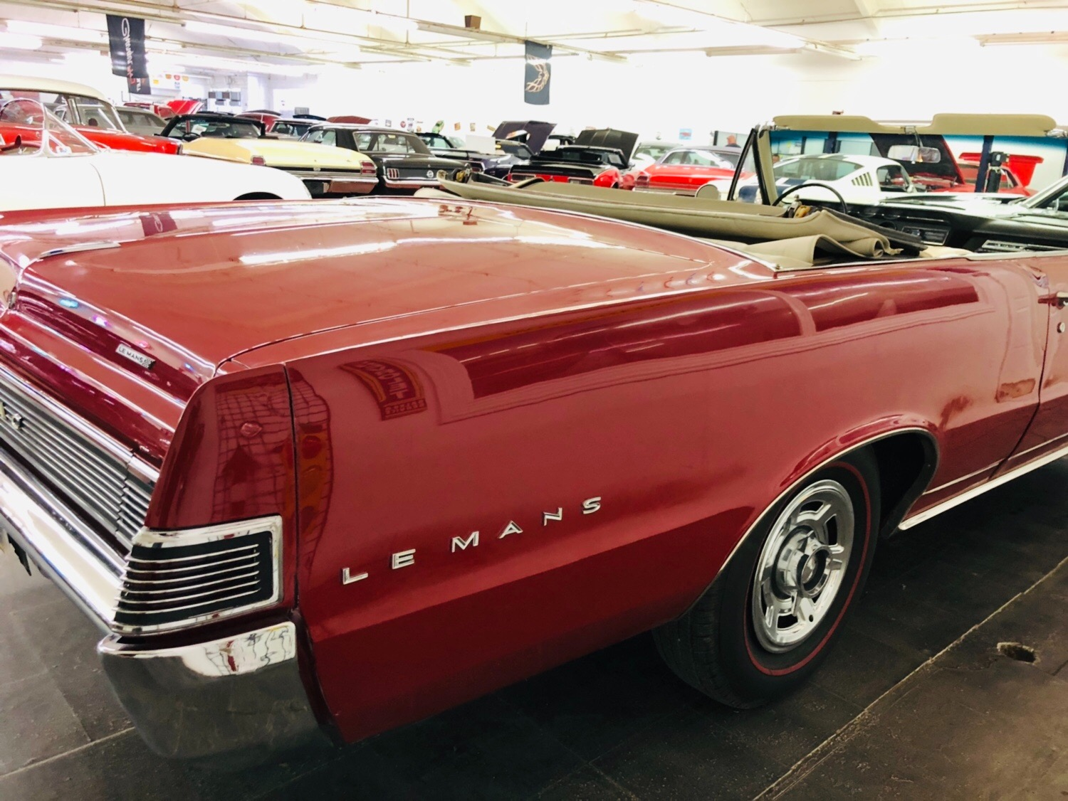 Used 1965 Pontiac Lemans - CONVERTIBLE - 326 V8 - FACTORY BUCKETS AND CONSOLE - SEE VIDEO | Mundelein, IL
