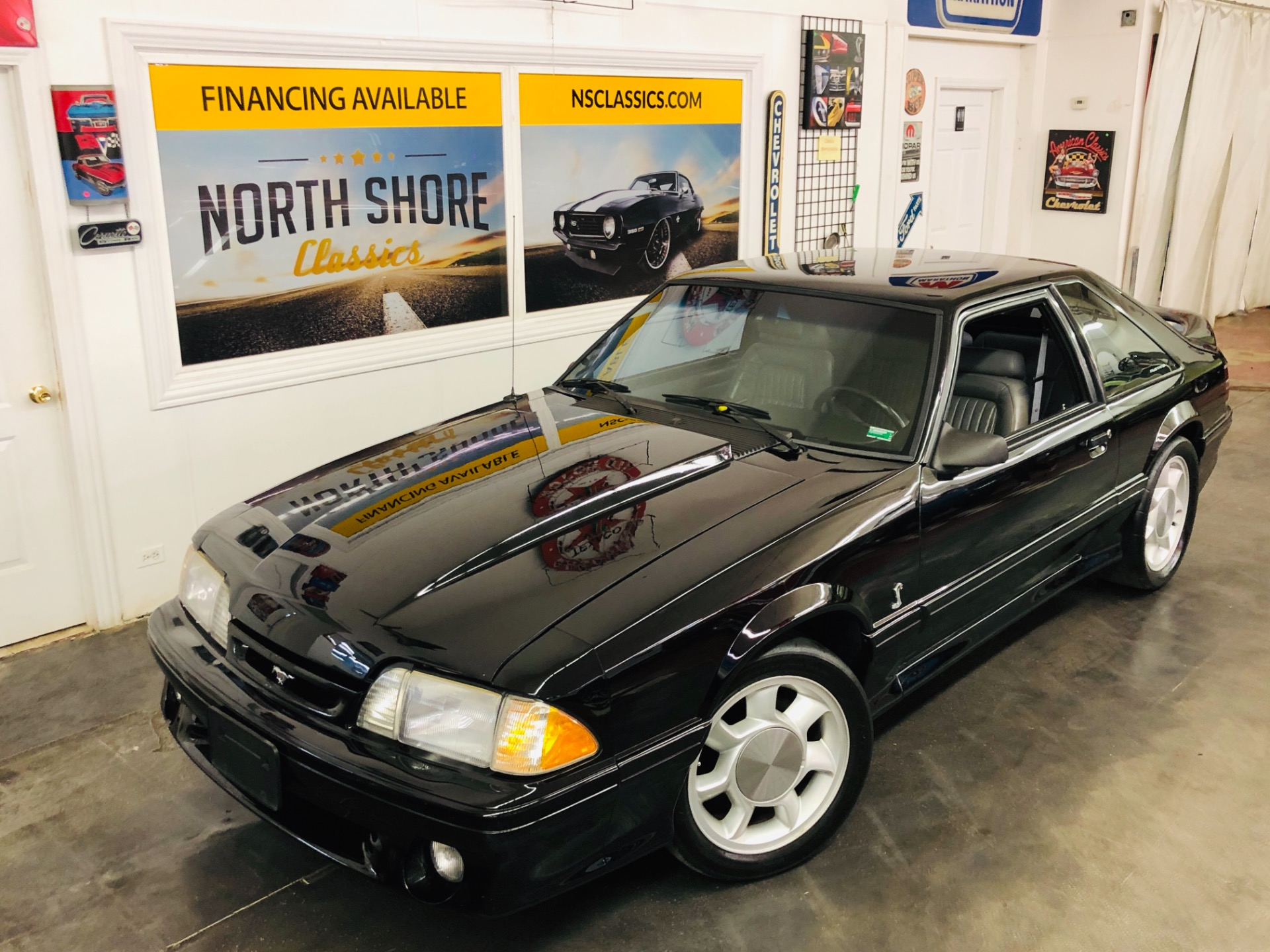 Used 1993 Ford Mustang -SUPERCHARGED COBRA SVT-CLEAN AUTO CHECK-SEE VIDEO | Mundelein, IL