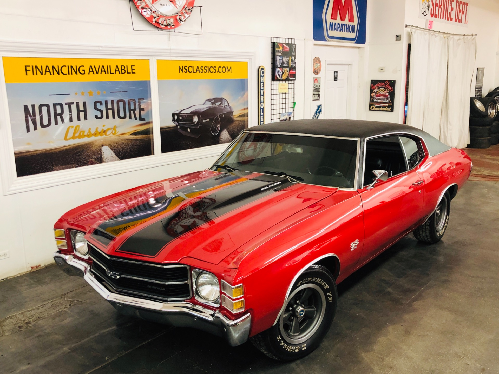 Used 1971 Chevrolet Chevelle -BIG BLOCK 496-AUTO-SLICK | Mundelein, IL