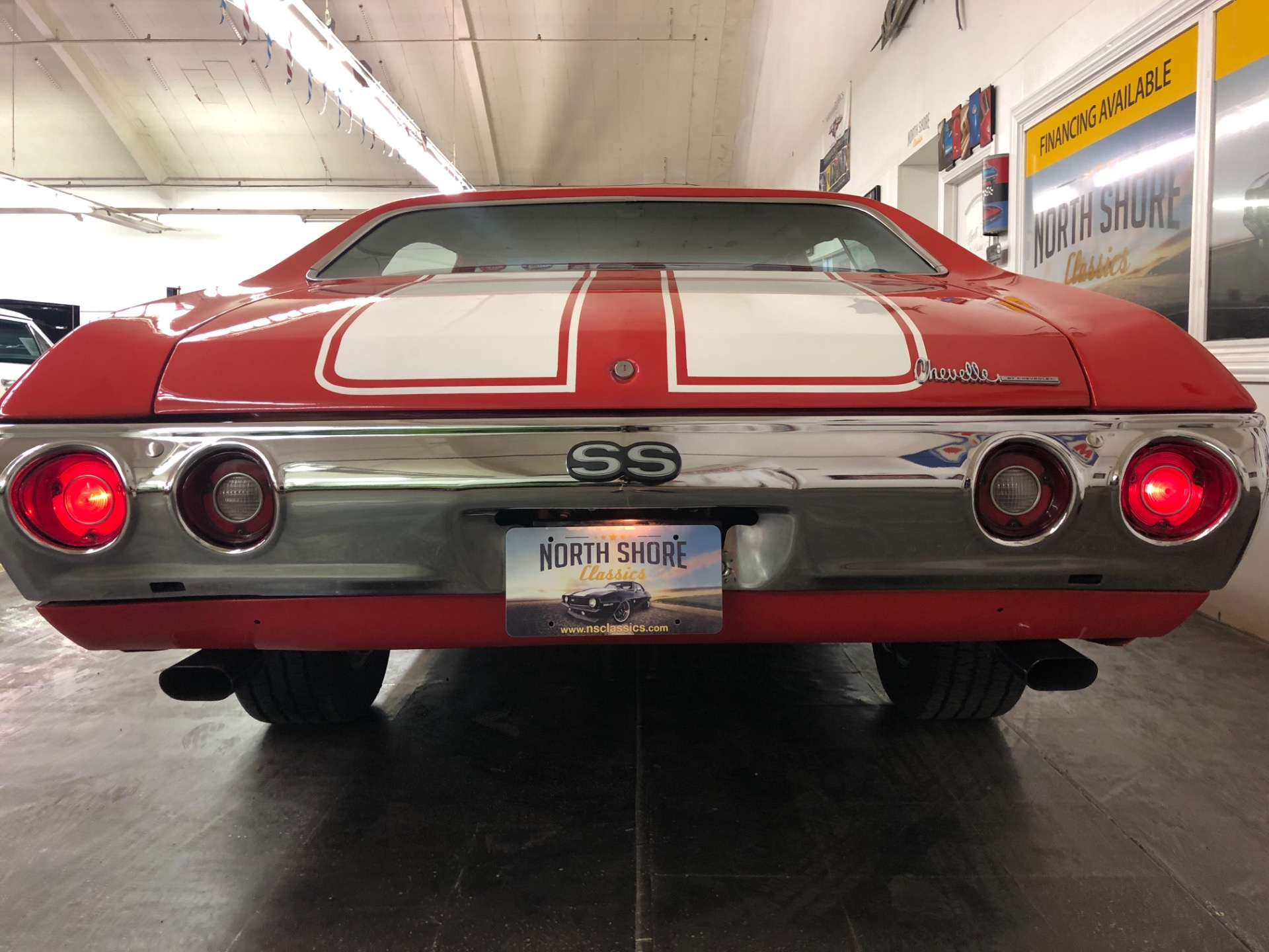Used 1972 Chevrolet Chevelle -SUPER SPORT TRIBUTE - CUSTOM PEARL PAINT - A/C - NEW ENGINE | Mundelein, IL