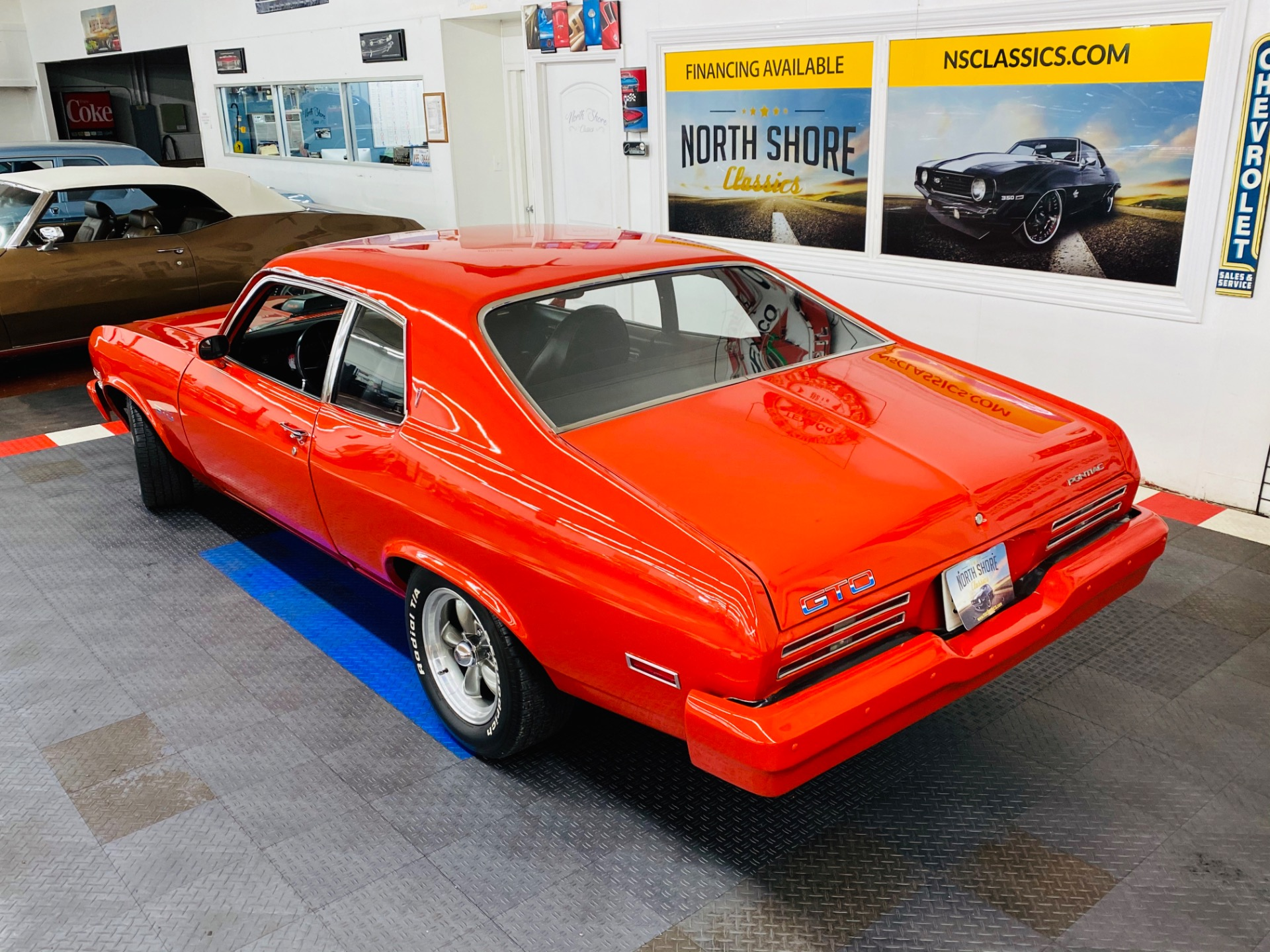 Used 1974 Pontiac GTO - RARE GTO - SUPER CLEAN - UPGRADED SUSPENSION - | Mundelein, IL