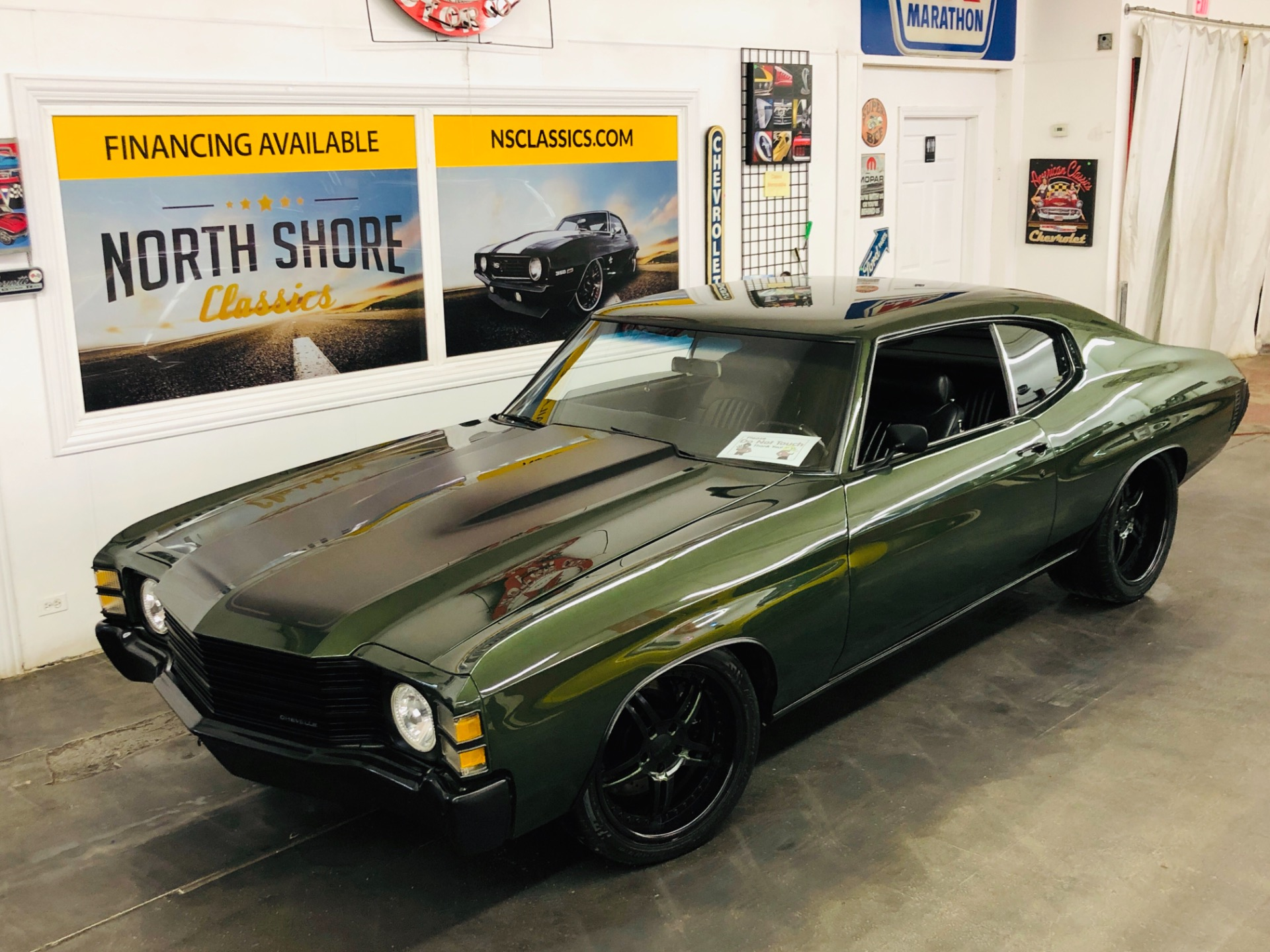 Used 1971 Chevrolet Chevelle - 540 BIG BLOCK - 6 SPEED TRANS - PRO TOURING BUILD - SEE VIDEO | Mundelein, IL