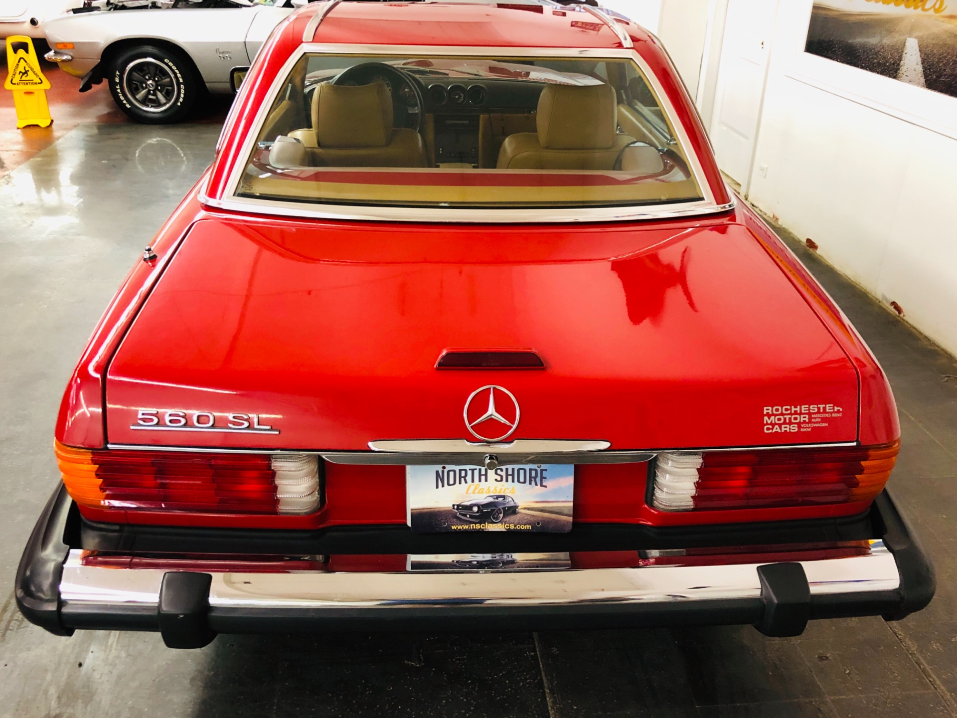 Used 1988 Mercedes Benz 560-Class -560 SL- CLASSIC CONVERTIBLE - SUPER CLEAN - SEE VIDEO | Mundelein, IL