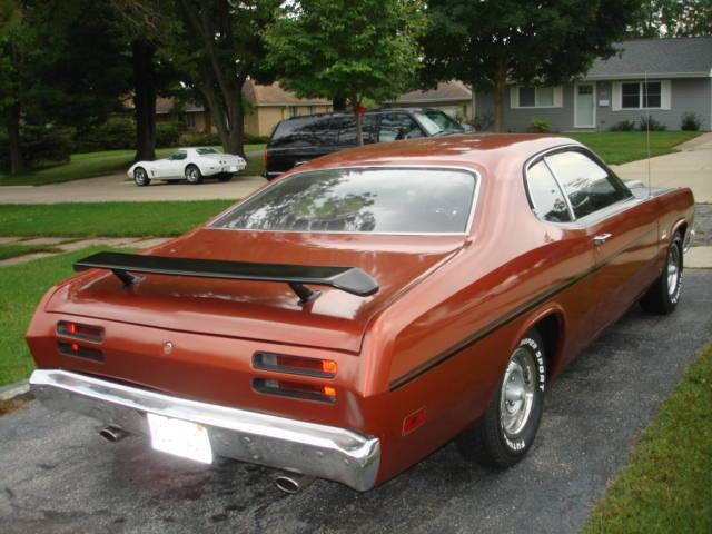 Used 1970 Plymouth Duster -340 - AUTO TRANS - FACTORY K5 BURNT ORANGE | Mundelein, IL
