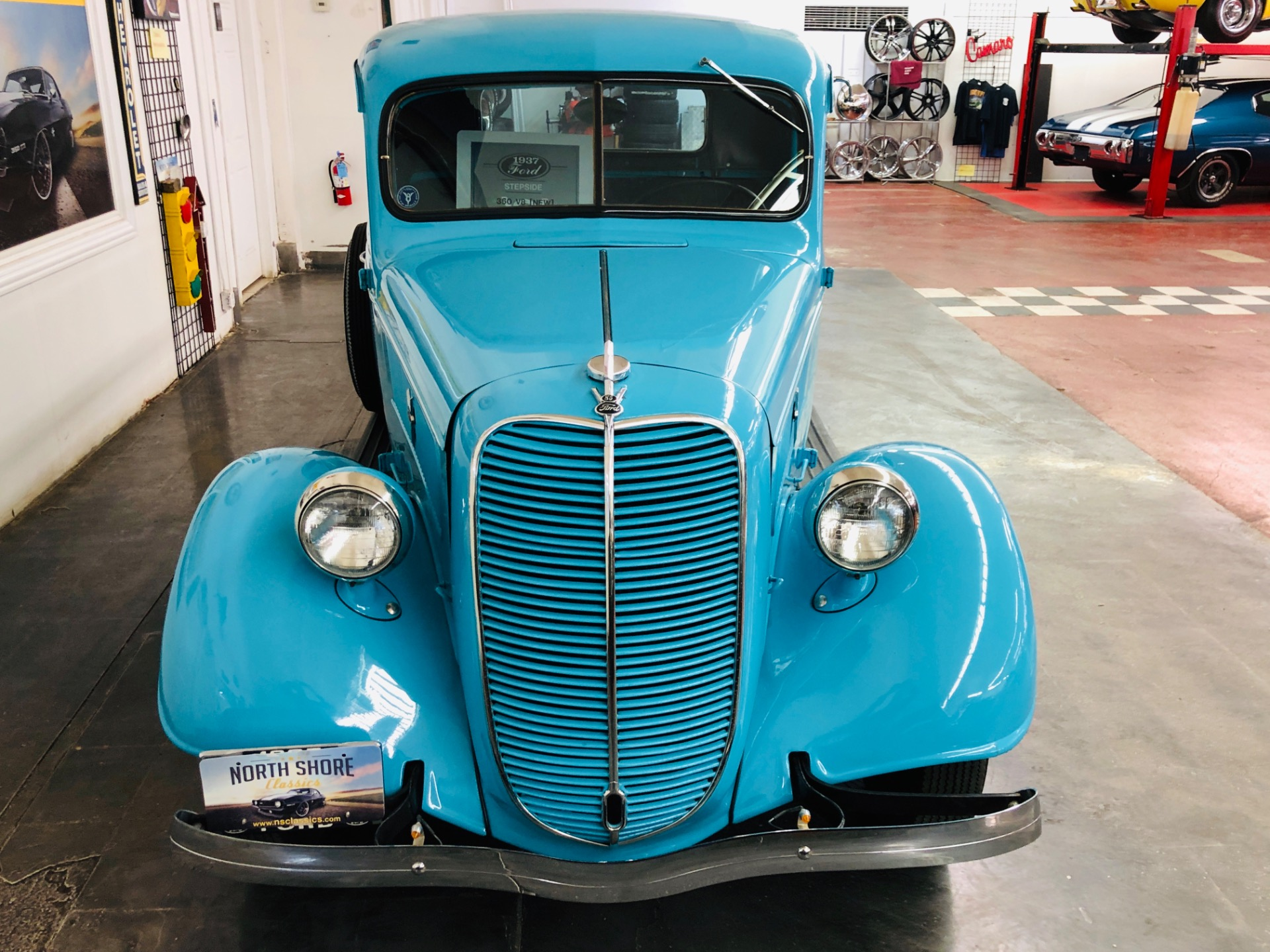 Used 1937 Ford Pickup - 350 SBC ENGINE - SUPER CLEAN BODY AND PAINT - VINTAGE TRUCK - | Mundelein, IL
