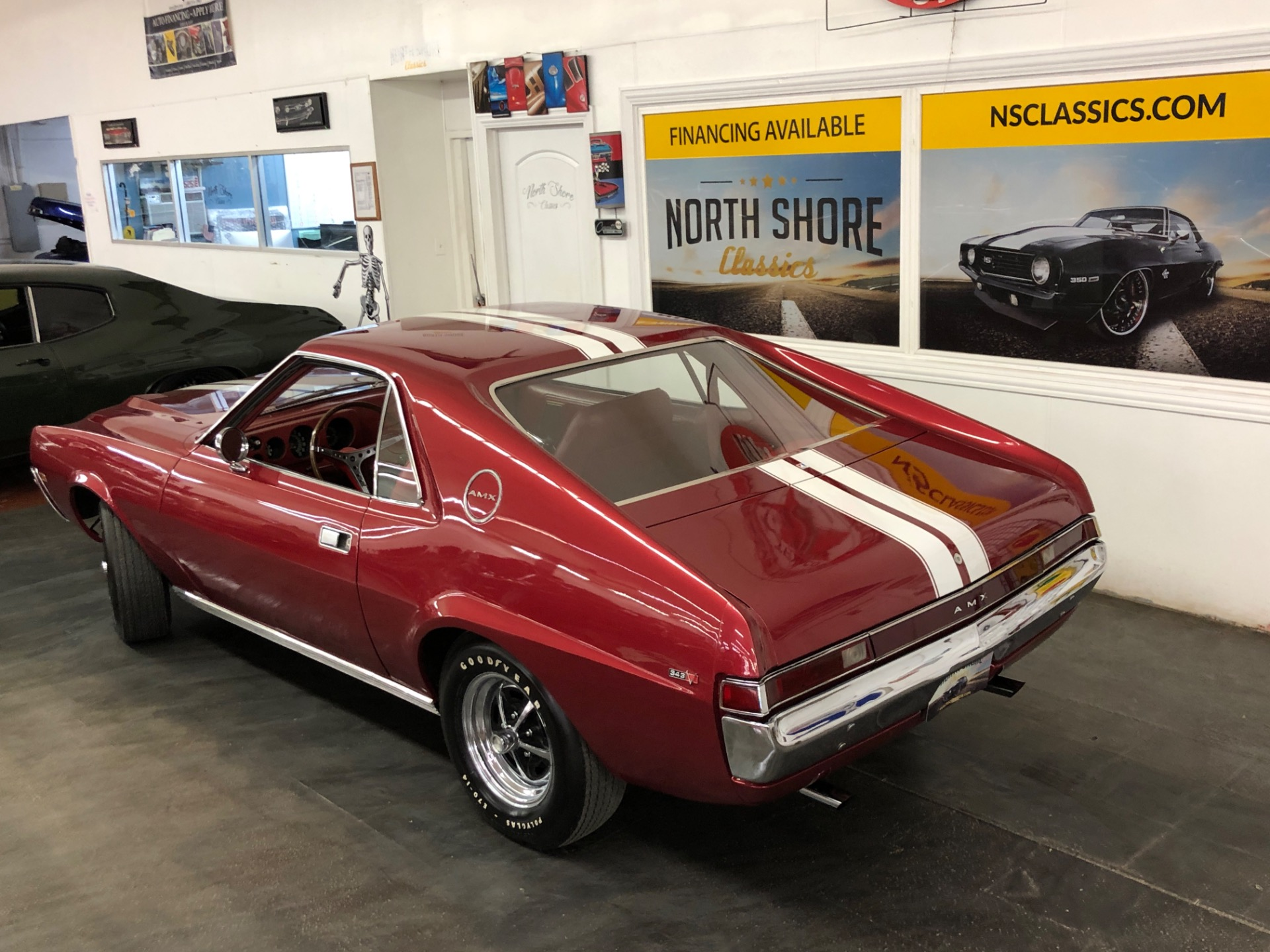 Used 1968 AMC AMX - 343 V8 - 4 SPEED - SUPER CLEAN - SEE VIDEO | Mundelein, IL