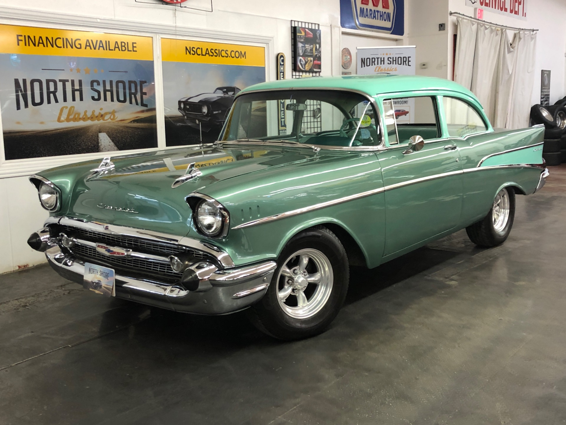 Used 1957 Chevrolet Bel Air/150/210 383 V8 Great Driving Classic | Mundelein, IL