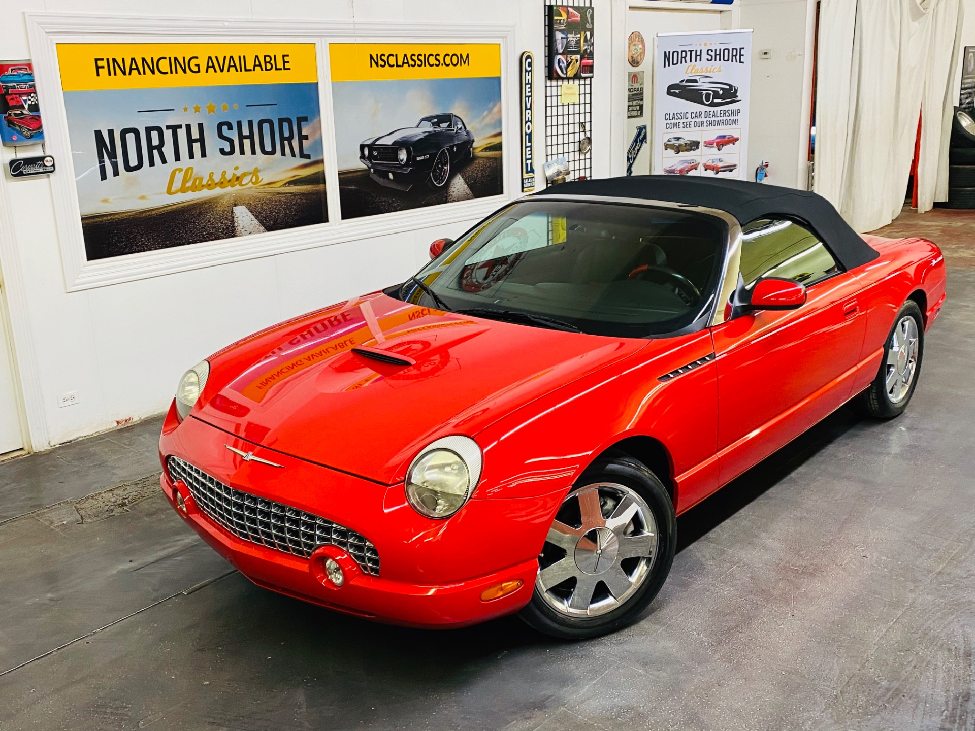 Used 2002 Ford Thunderbird - CLEAN CARFAX - WELL MAINTAINED - SUPER CLEAN - SEE VIDEO | Mundelein, IL