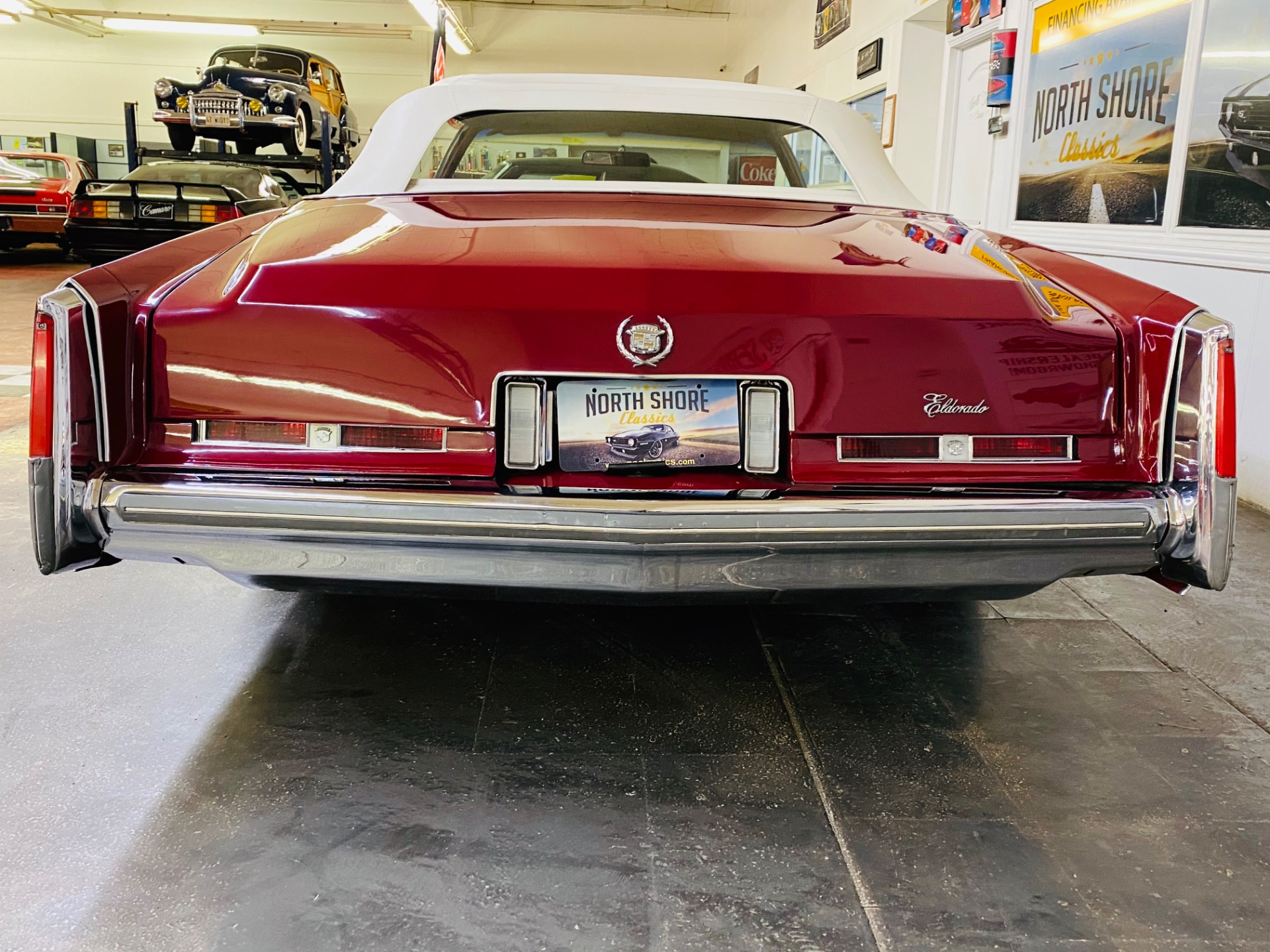 Used 1975 Cadillac Eldorado - CONVERTIBLE - 500 c.i. ENGINE - LOADED POWER OPTIONS - SEE VIDEO | Mundelein, IL