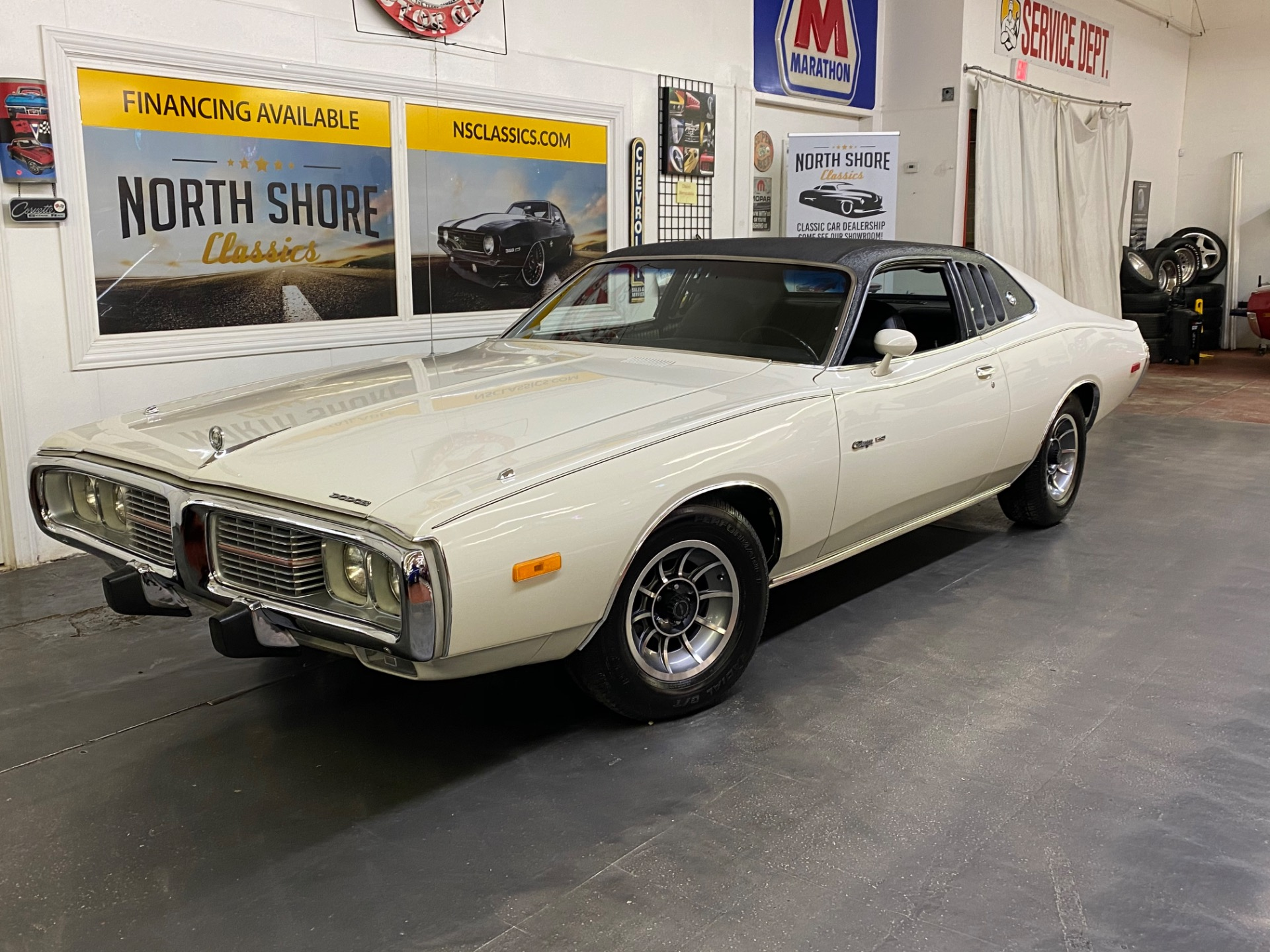 Used 1973 Dodge Charger - SE BROUGHAM - FACTORY A/C - 400 ENGINE - SEE VIDEO | Mundelein, IL