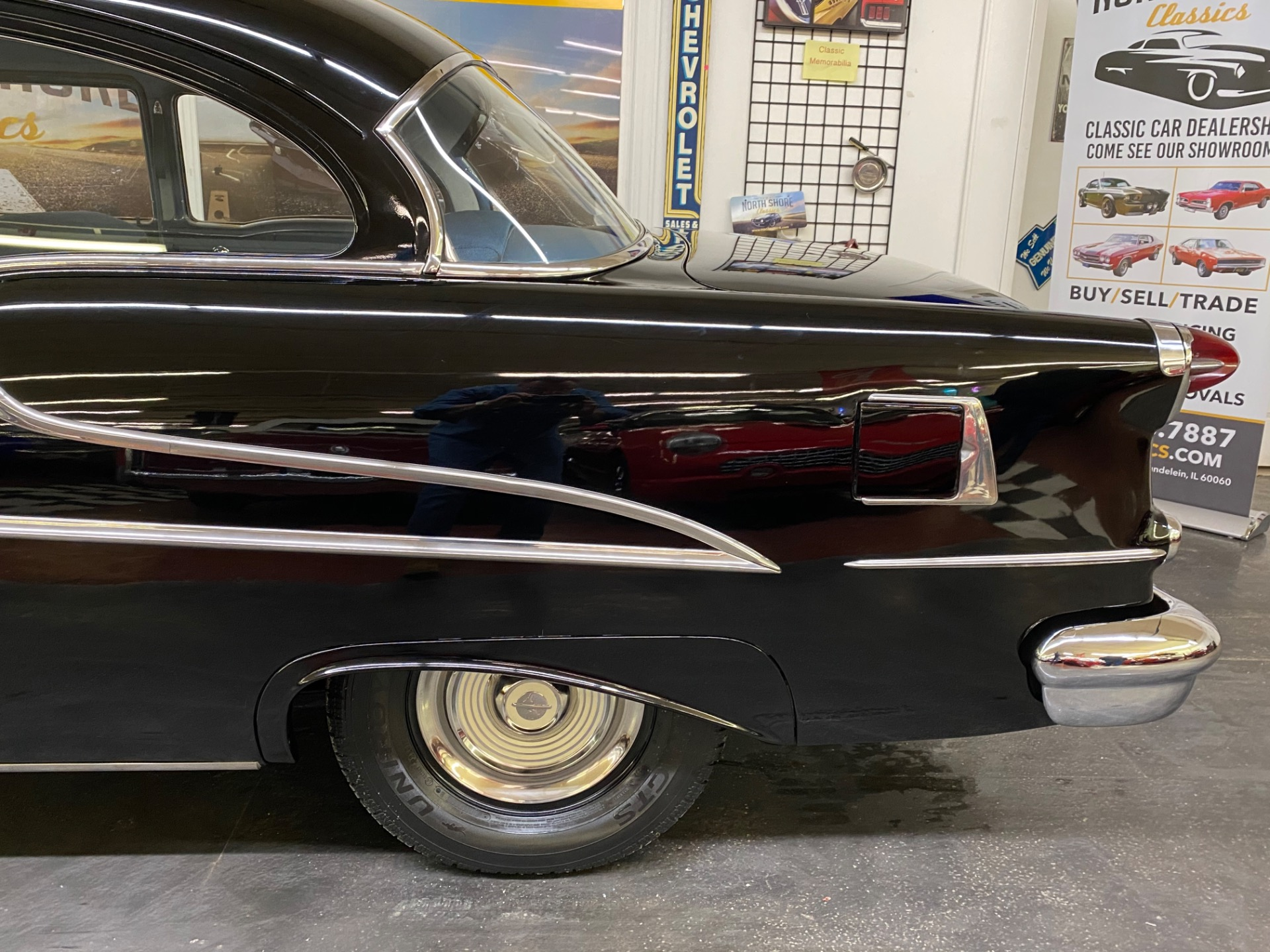 Used 1955 Oldsmobile 88 - HIGH QUALITY RESTORATION - 324 V8 - AUTO TRANS - SEE VIDEO | Mundelein, IL