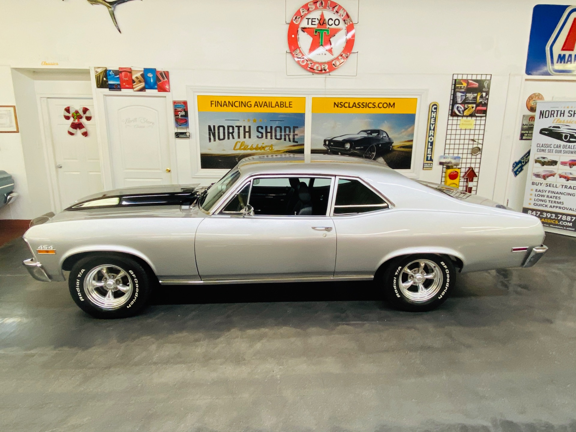 Used 1970 Chevrolet Nova - 454 BIG BLOCK - 4 SPEED MANUAL - VERY CLEAN - SEE VIDEO | Mundelein, IL