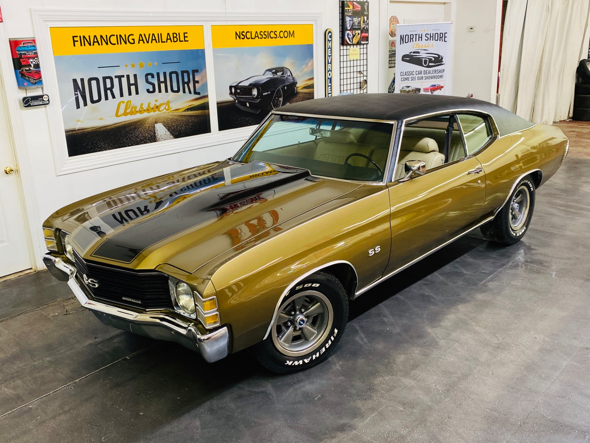 Used 1972 Chevrolet Chevelle -SUPER SPORT TRIBUTE - 383 ENGINE - 5 SPEED - DANA 60 REAR - SEE VIDEO | Mundelein, IL
