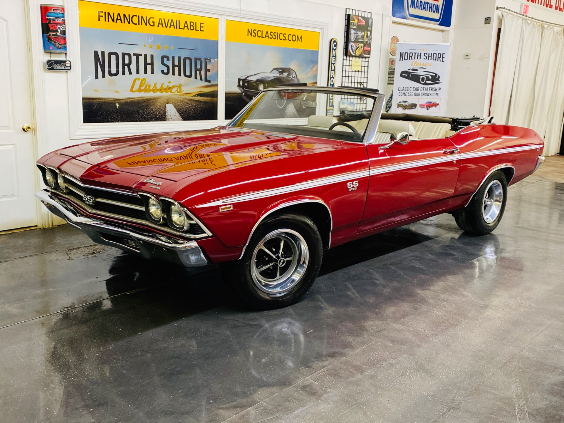 Used 1969 Chevrolet Chevelle - SUPER SPORT CONVERTIBLE - BUILT IN CANADA - 4 SPEED - SEE VIDEO | Mundelein, IL