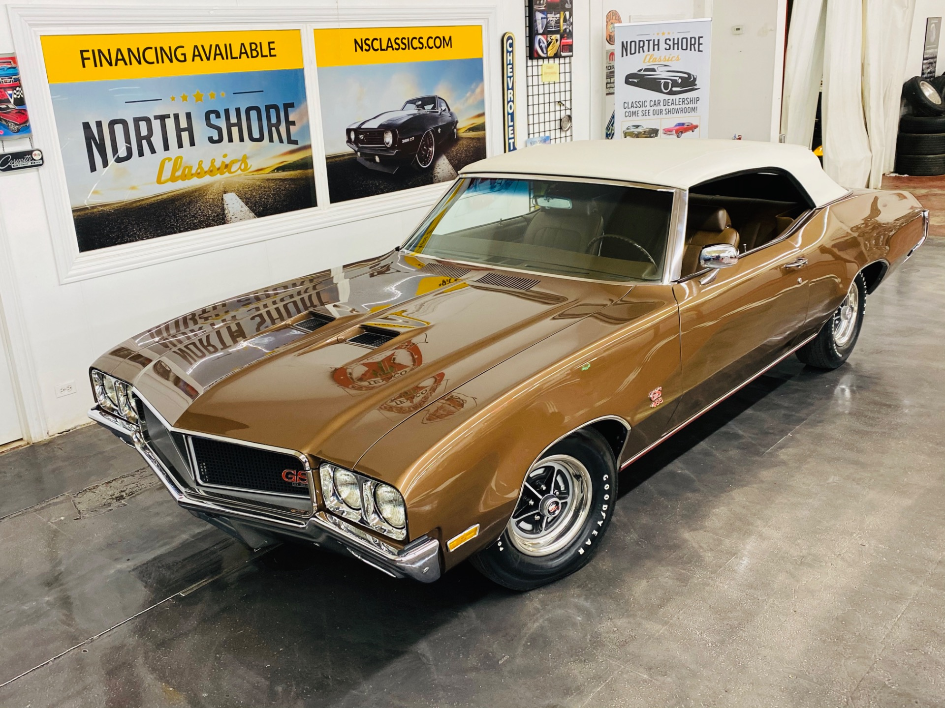 Used 1970 Buick GS - CONVERTIBLE - 455 ENGINE - NUMBERS MATCHING - SEE VIDEO | Mundelein, IL