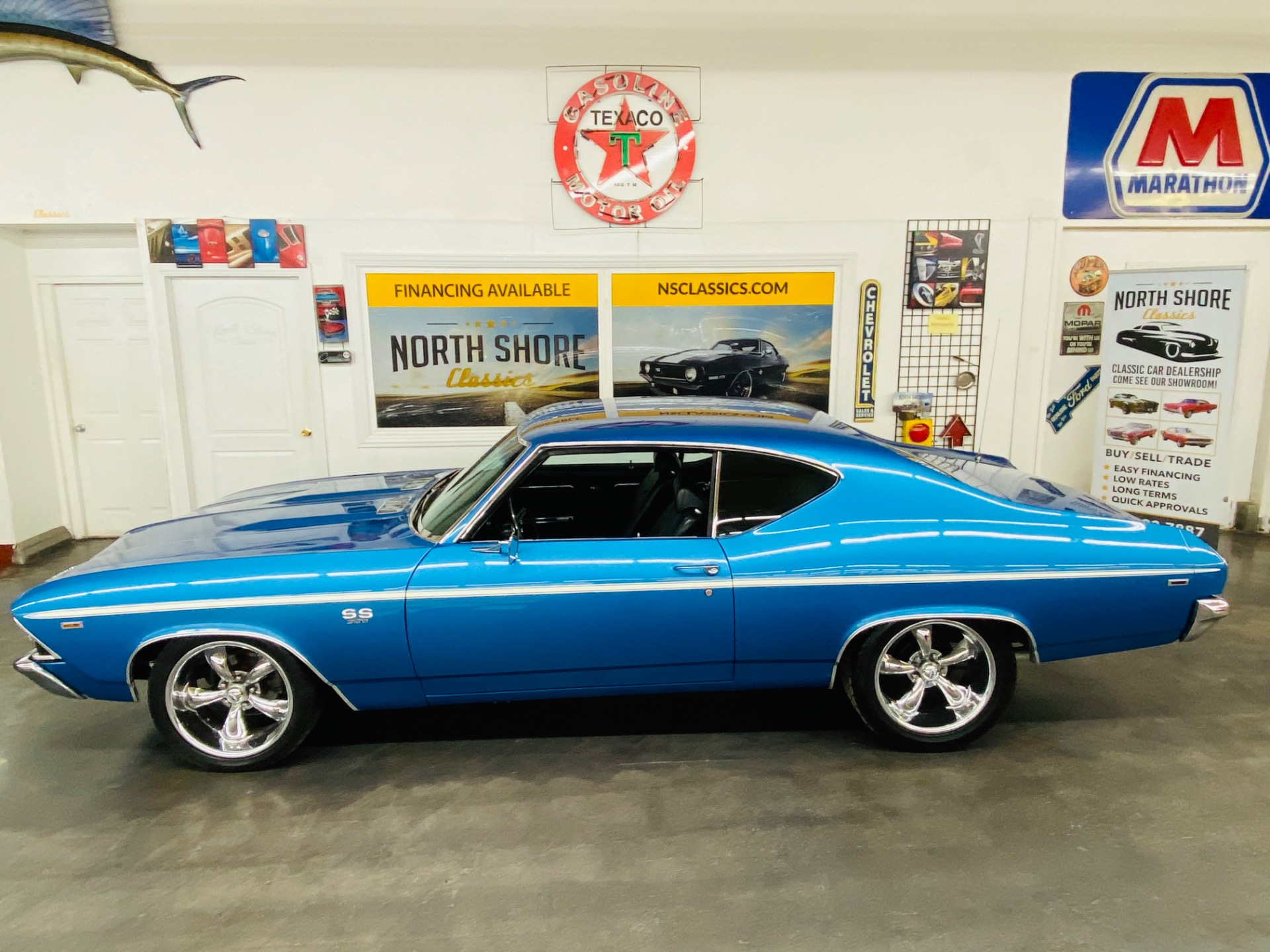 Used 1969 Chevrolet Chevelle - SUPER SPORT - 454 ENGINE - CODE 71 LEMANS BLUE - SEE VIDEO | Mundelein, IL