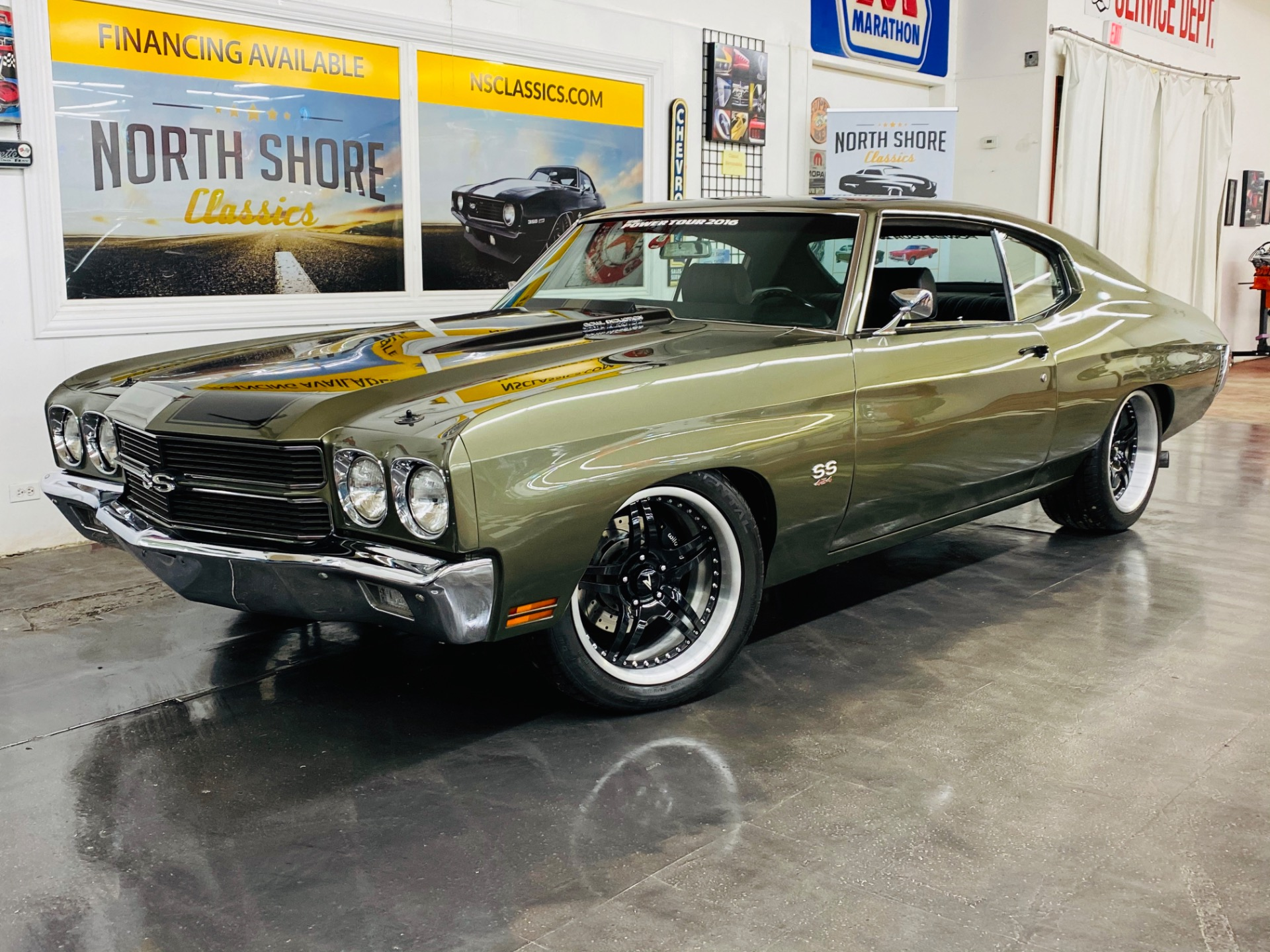 Used 1970 Chevrolet Chevelle - 540 BIG BLOCK - 6 SPEED TRANS - PRO TOURING BUILD - SEE VIDEO | Mundelein, IL