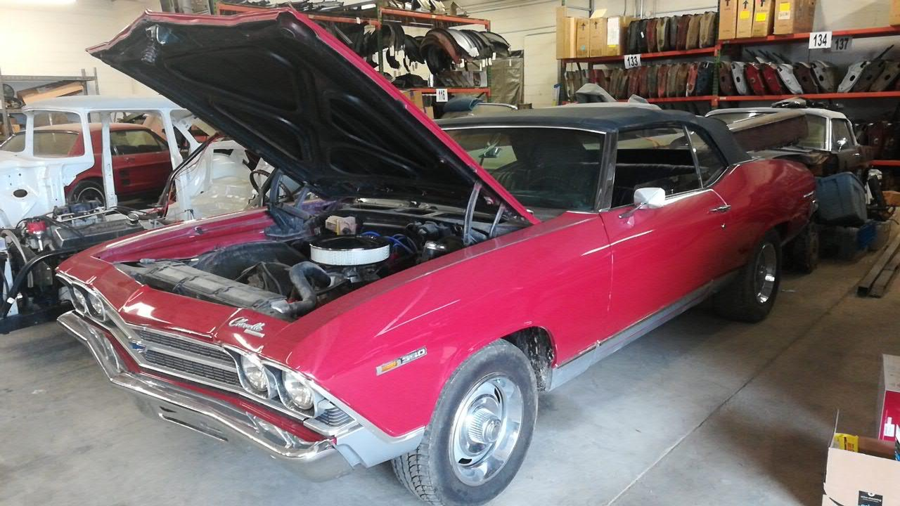 Used 1969 Chevrolet Chevelle -CONVERTIBLE - 4 SPEED - BUCKET SEATS - | Mundelein, IL