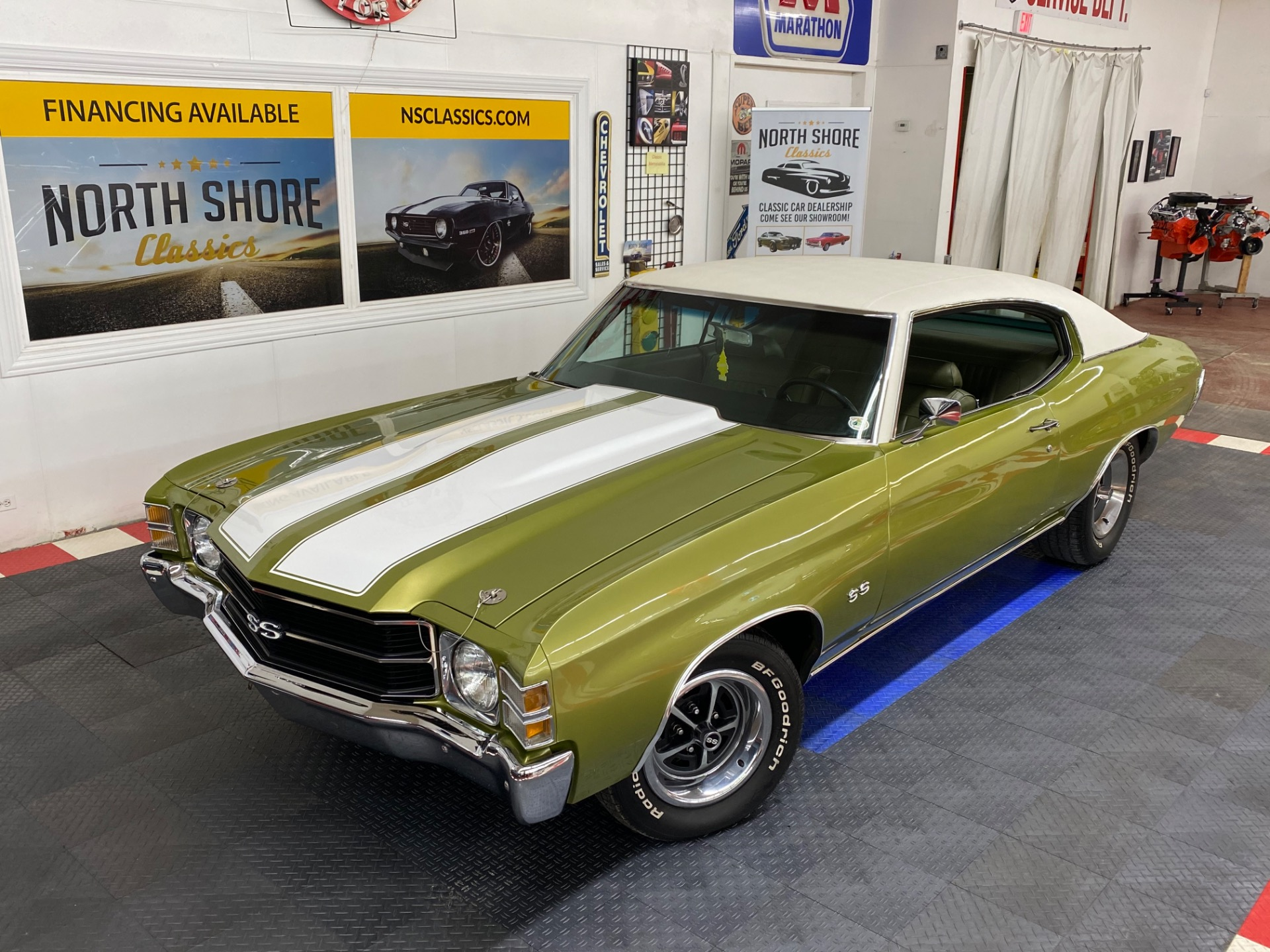 Used 1971 Chevrolet Chevelle - NUMBERS MATCHING - SUPER SPORT TRIBUTE - GREAT CRUISER - SEE VIDEO | Mundelein, IL