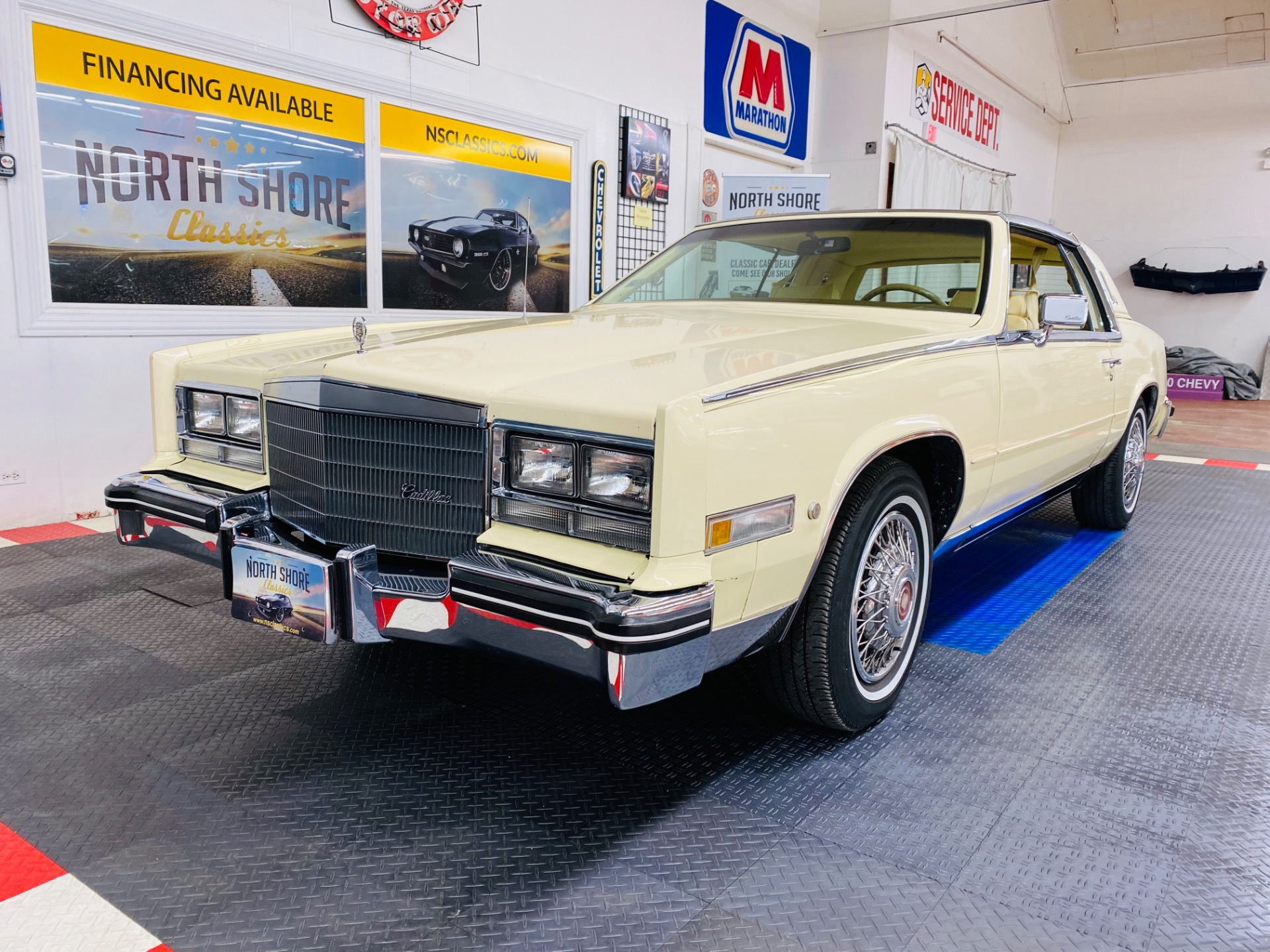Used 1984 Cadillac Eldorado - BIARRITZ COUPE - STAINLESS ROOF - LOW MILES - SEE VIDEO | Mundelein, IL