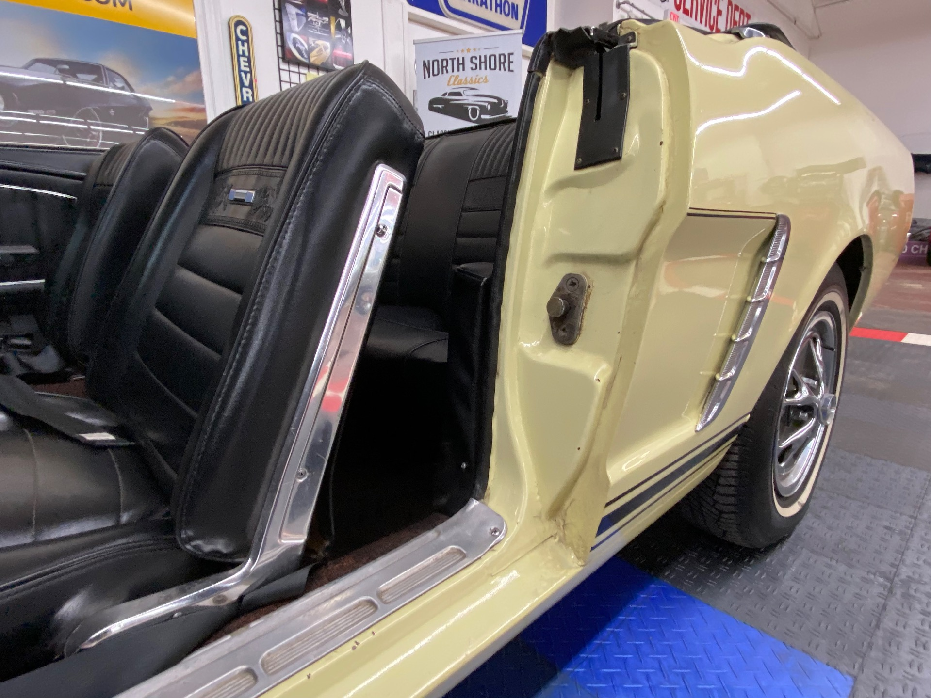 Used 1965 Ford Mustang - CONVERTIBLE - FACTORY A/C - 3 SPEED MANUAL - | Mundelein, IL
