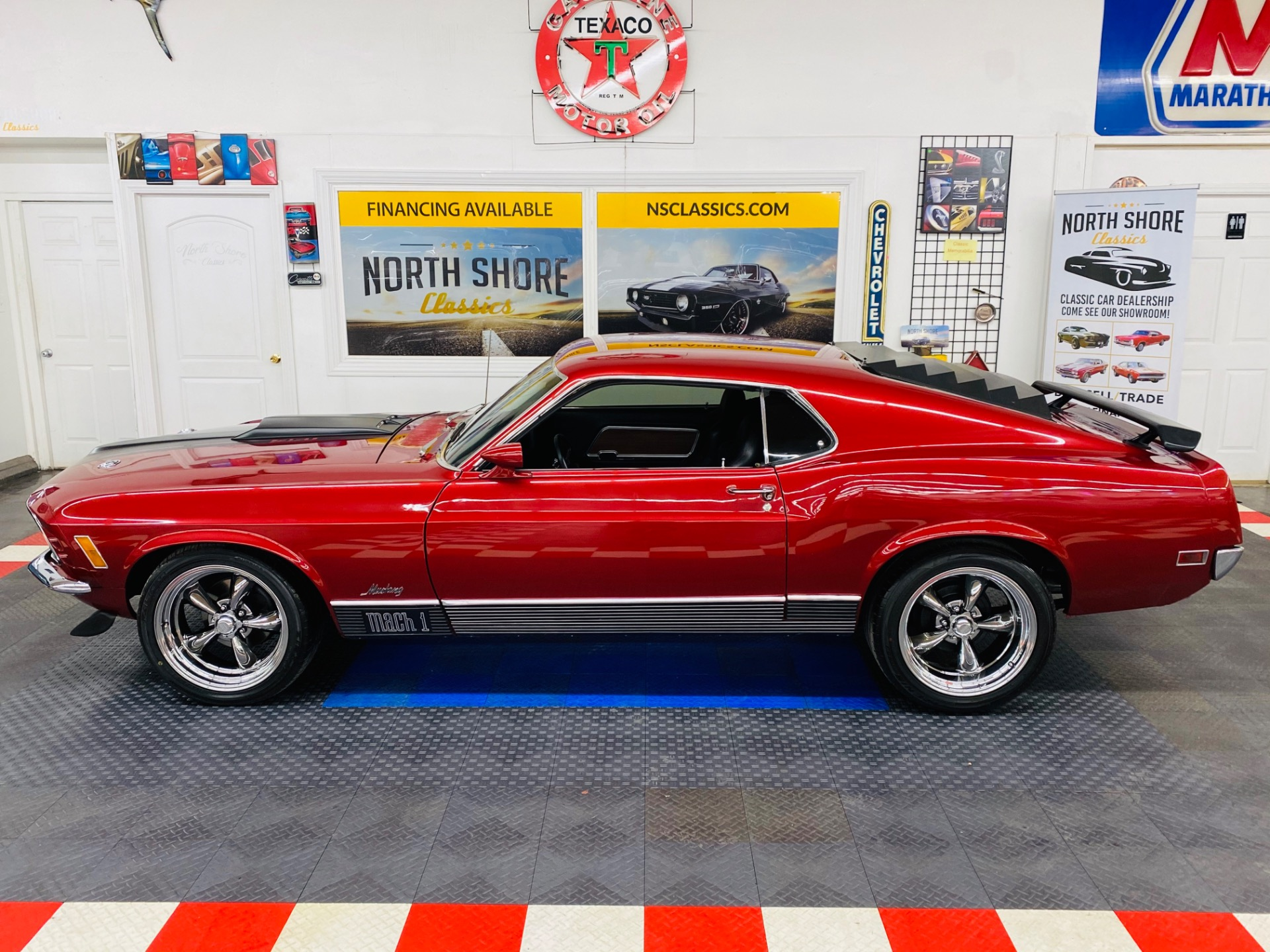Used 1970 Ford Mustang - MACH 1 - 351 ENGINE - PRO TOURING STYLE - A/C - SEE VIDEO | Mundelein, IL