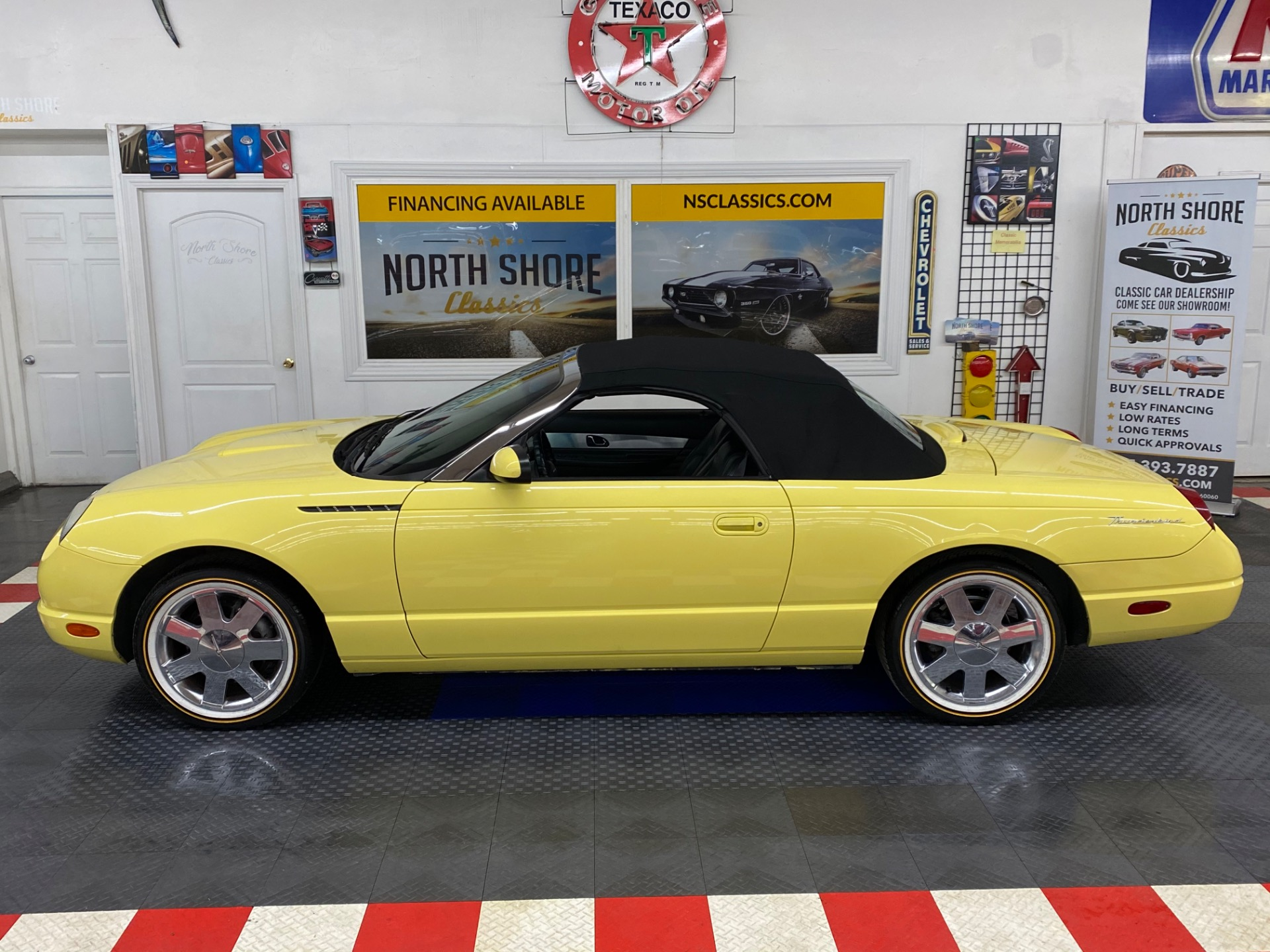 Used 2002 Ford Thunderbird -DELUXE CONVERTIBLE - CLEAN CAR FAX - | Mundelein, IL