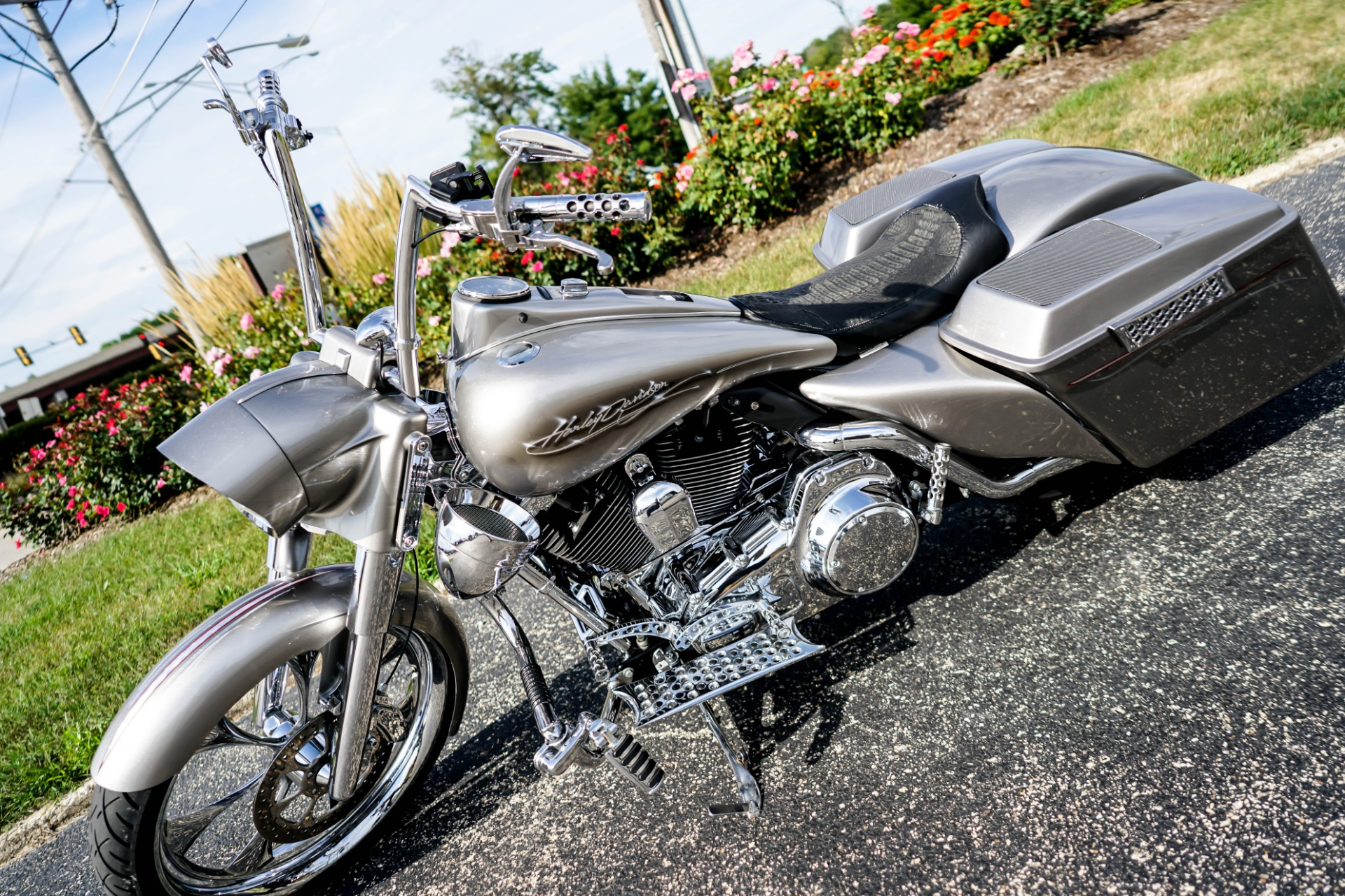 Used 2008 Harley Davidson Road King Full Custom Bagger | Mundelein, IL