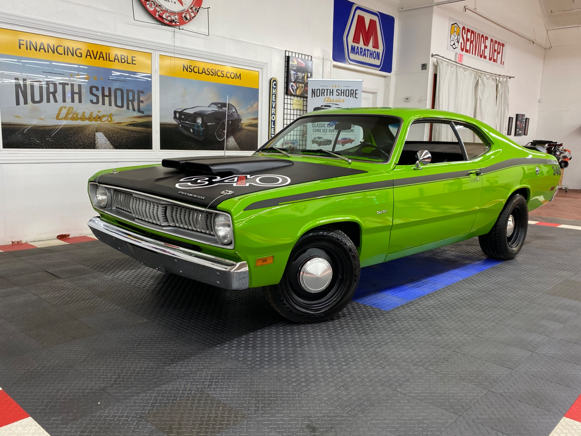 Used 1970 Plymouth Duster -340 WEDGE TRIBUTE - SUPER CLEAN BODY - SEE VIDEO - | Mundelein, IL