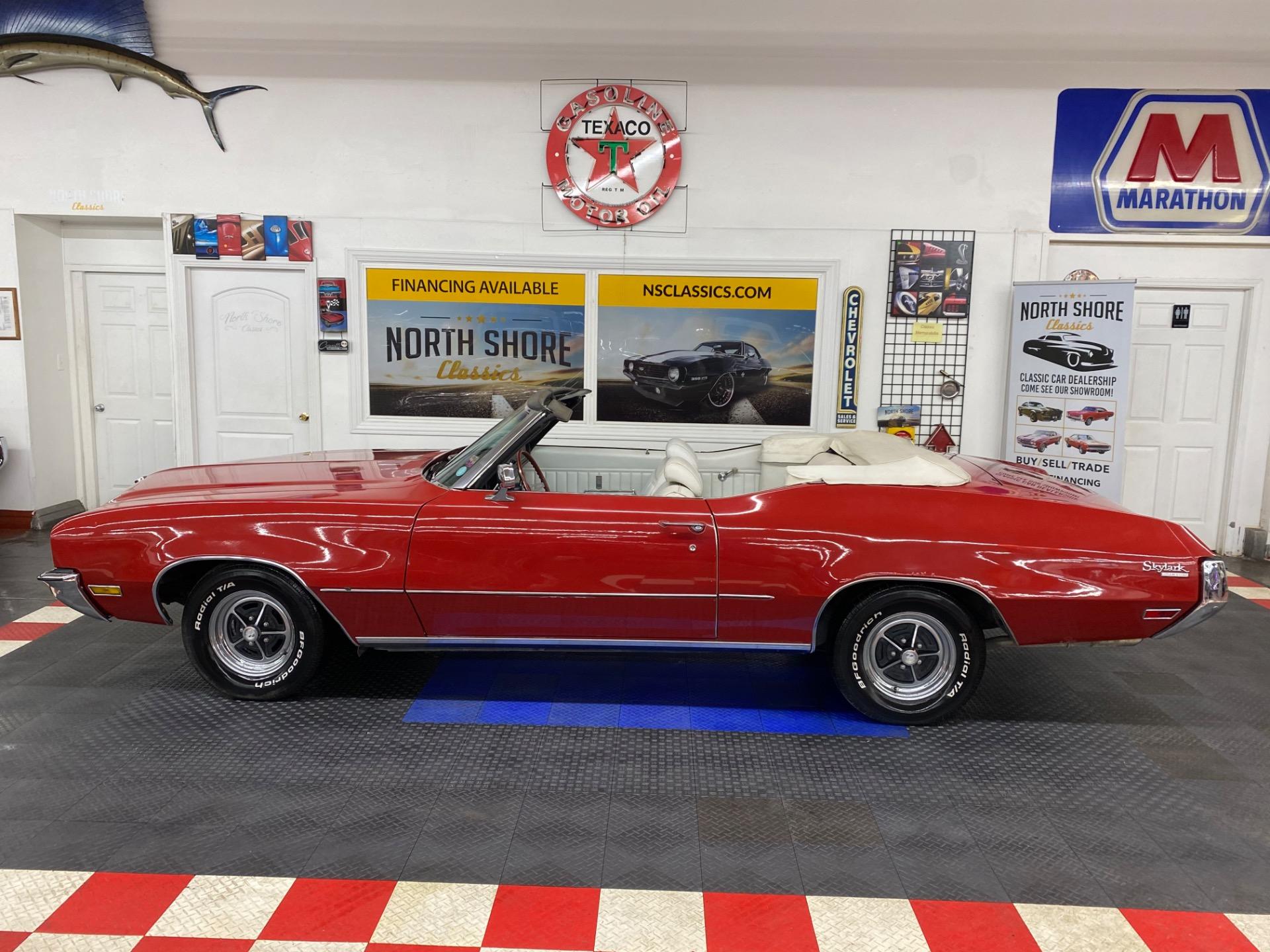 Used 1972 Buick Skylark - CONVERTIBLE - 350 ENGINE - SUMMER CRUISER - SEE VIDEO - | Mundelein, IL