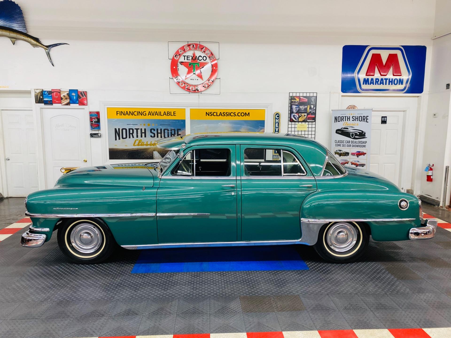 Used 1952 Chrysler Saratoga -4 DR SEDAN - STUNNING RESTORATION - DRIVES EXCELLENT - SEE VIDEO - | Mundelein, IL