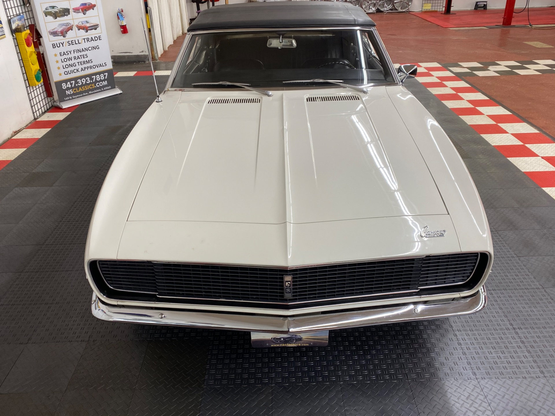 Used 1968 Chevrolet Camaro - RALLY SPORT CONVERTIBLE - VERY ORIGINAL CONDITION - ZZENITH AWARD WINNER | Mundelein, IL