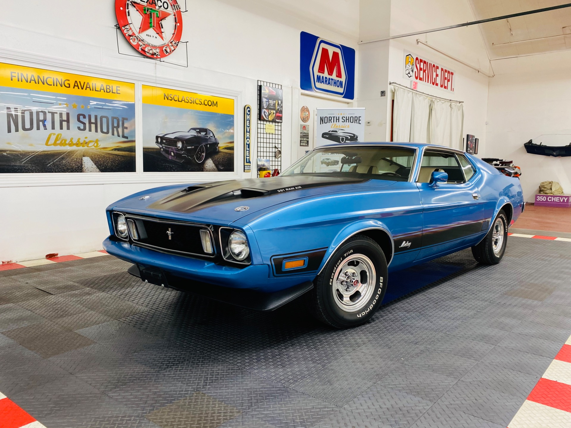 Used 1973 Ford Mustang - MACH 1 - 351 ENGINE - FACTORY A/C - 4 SPEED - SEE VIDEO | Mundelein, IL