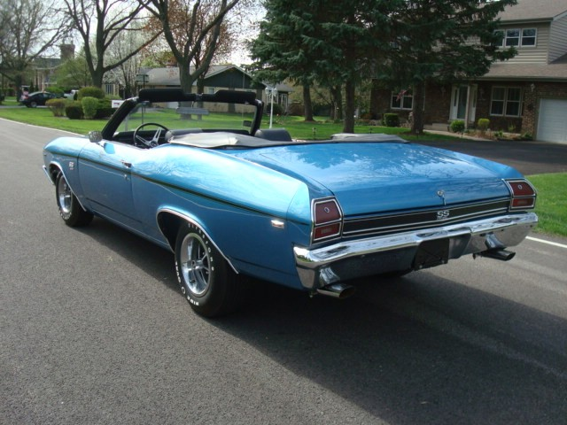 Used 1969 Chevrolet Chevelle SS396-4 SPEED- RESTORED 2013-SEE VIDEOS | Mundelein, IL
