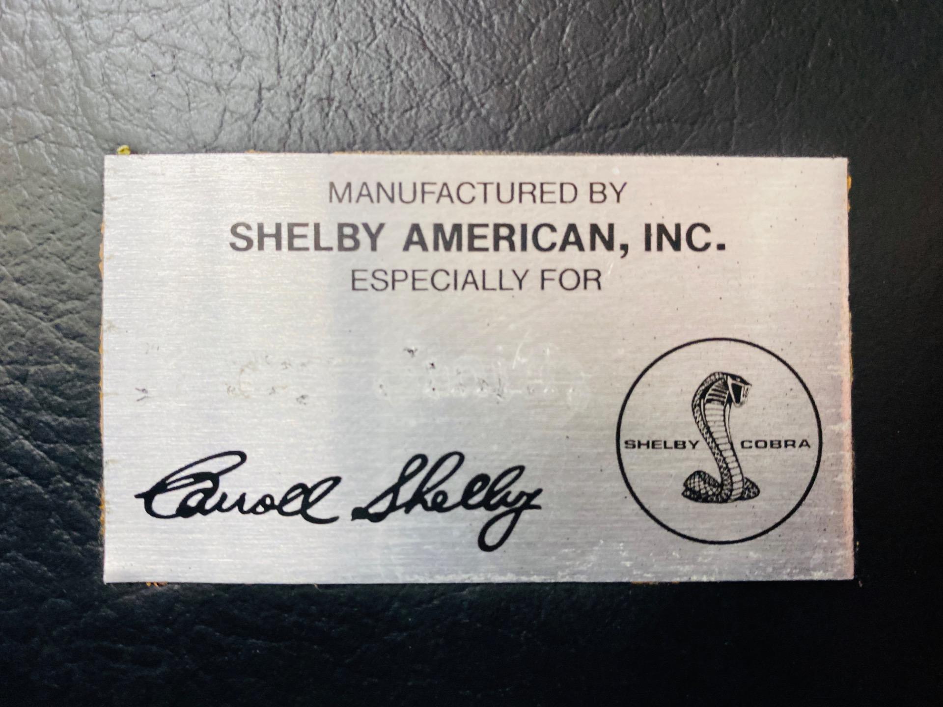 Used 1965 SHELBY COBRA - CLASSIC COBRA INC. REPLICA - SEE VIDEO | Mundelein, IL