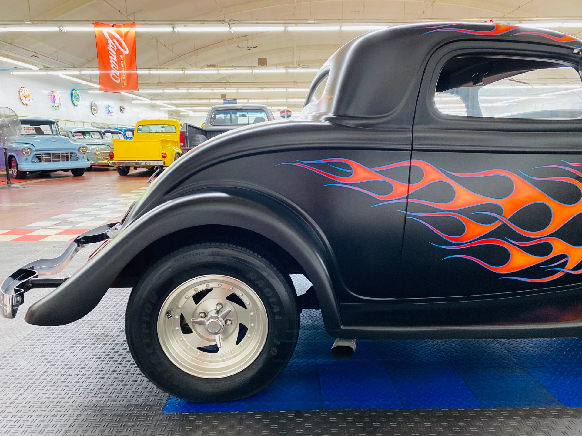 Used 1934 FORD Hot Rod / Street Rod -OLD SCHOOL STREET ROD - VERY RELIABLE - CUSTOM FLAMES - SEE VIDEO | Mundelein, IL