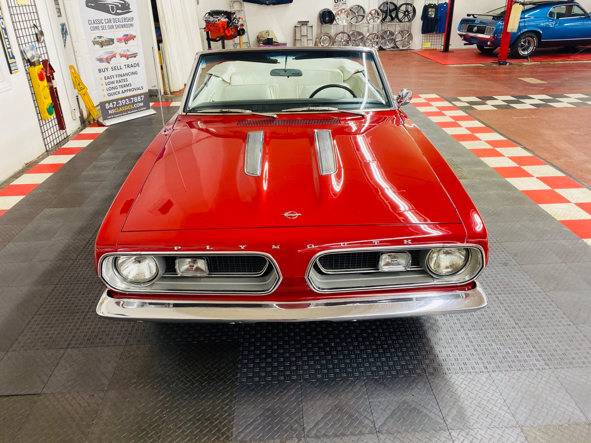Used 1967 Plymouth Barracuda Convertible - SEE VIDEO - | Mundelein, IL