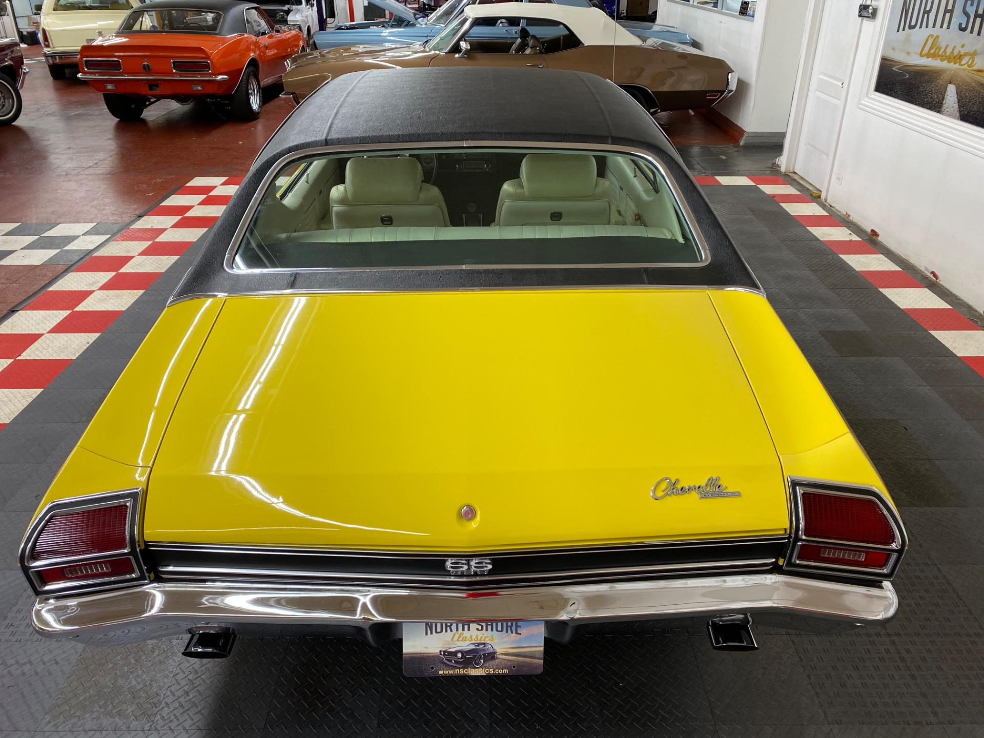 Used 1969 Chevrolet Chevelle -SUPER SPORT - DAYTONA YELLOW -  SEE VIDEO | Mundelein, IL