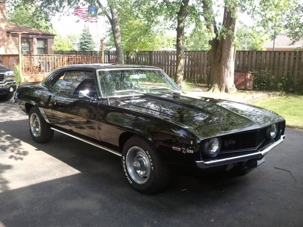 Used 1969 Chevrolet Camaro Z28 BADGED-NO RUST | Mundelein, IL