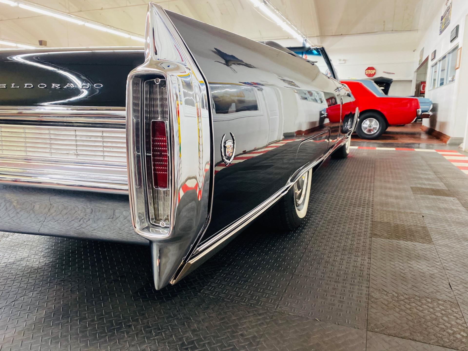 Used 1965 Cadillac Eldorado - TRIPLE BLACK CONVERTIBLE - SHOW QUALITY RESTORATION - SEE VIDEO | Mundelein, IL