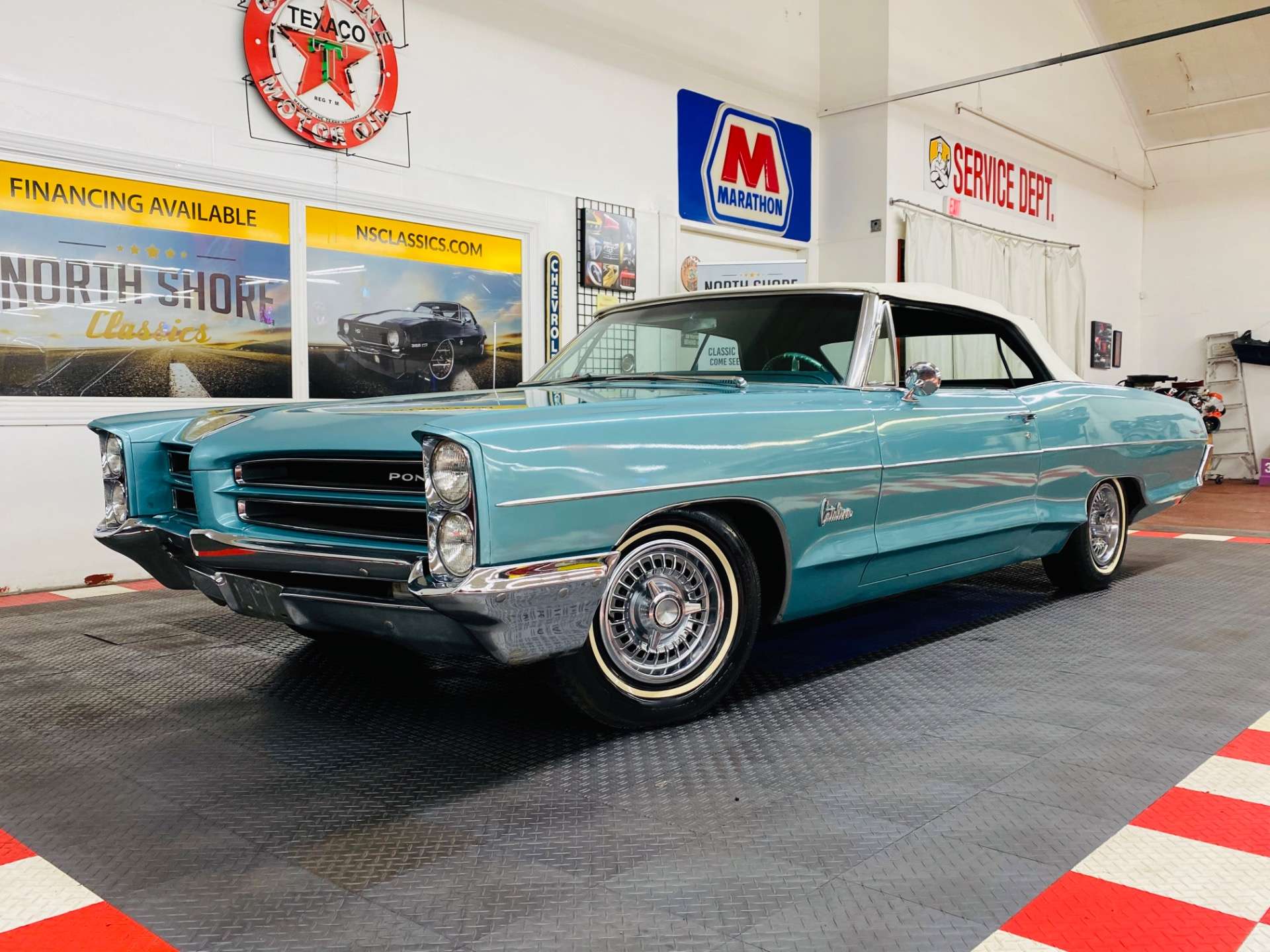 Used 1966 Pontiac Catalina - CONVERTIBLE - GREAT DRIVING CLASSIC - SEE VIDEO - | Mundelein, IL