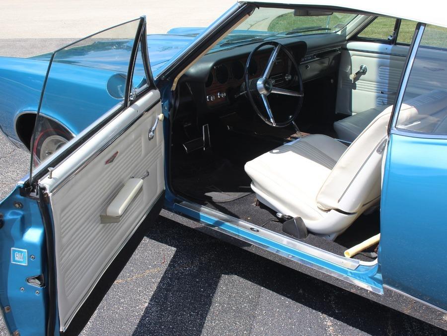 Used 1967 Pontiac GTO - CONVERTIBLE - TYROL BLUE - 400 V8 AUTO TRANS - | Mundelein, IL