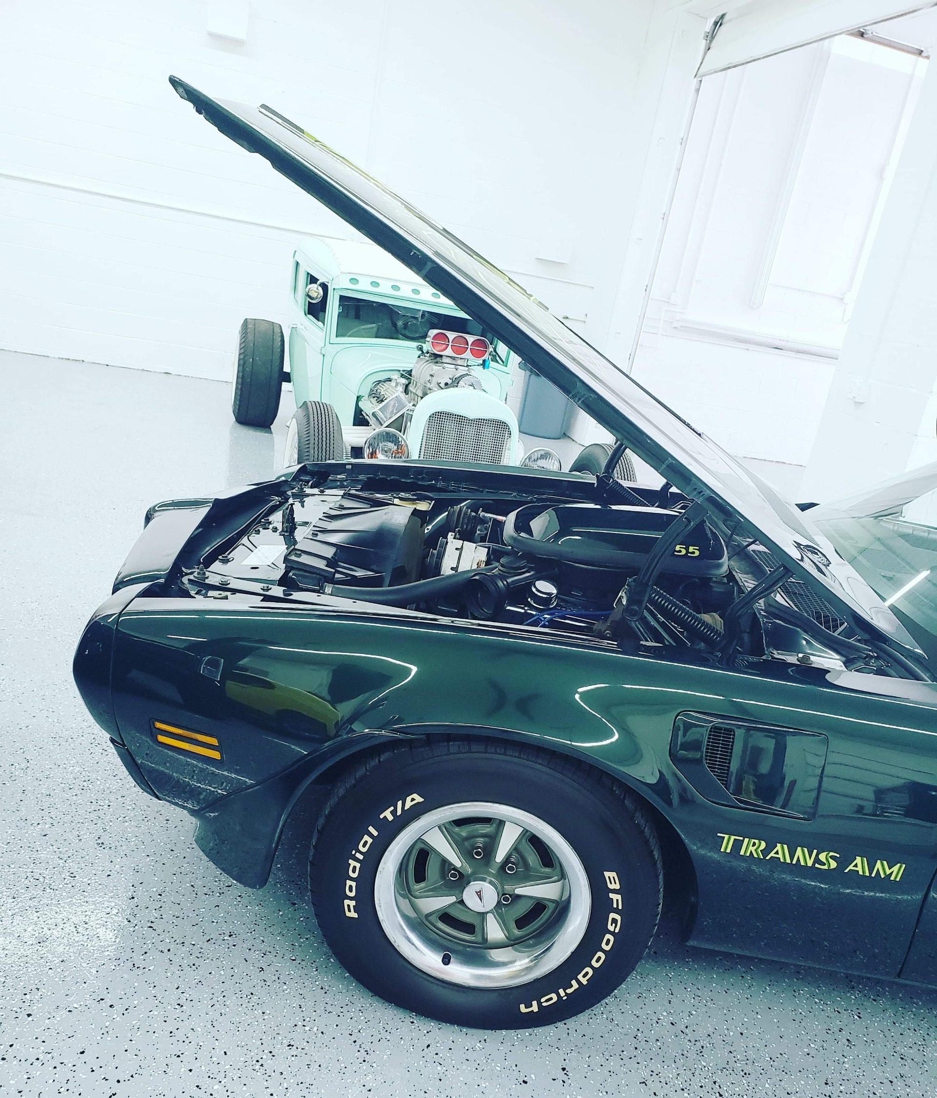 Used 1973 Pontiac Trans Am Brewster Green Factory A/C | Mundelein, IL