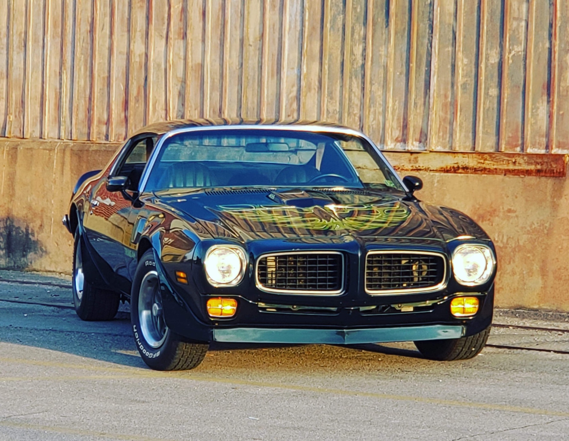 Used 1973 Pontiac Trans Am Brewster Green Factory A/C - SEE VIDEO - | Mundelein, IL