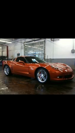 Used 2007 Chevrolet Corvette Z06-ATOMIC ORANGE-LOW MILES | Mundelein, IL