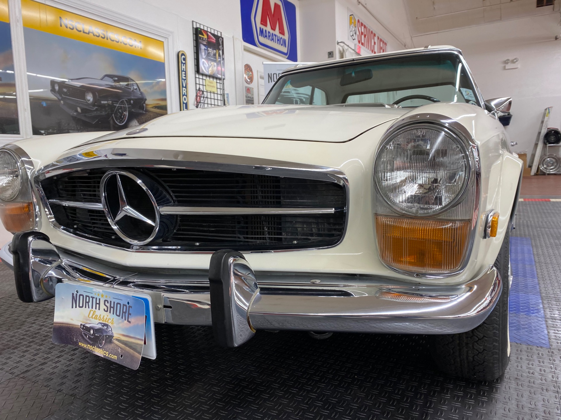 Used 1971 Mercedes-Benz 280 SL - TWO TOP CONVERTIBLE - VERY CLEAN - SEE VIDEO | Mundelein, IL