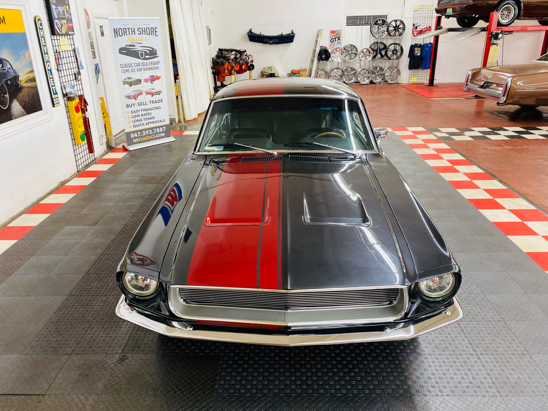 1967 Mustang Coupe Rear Spoiler