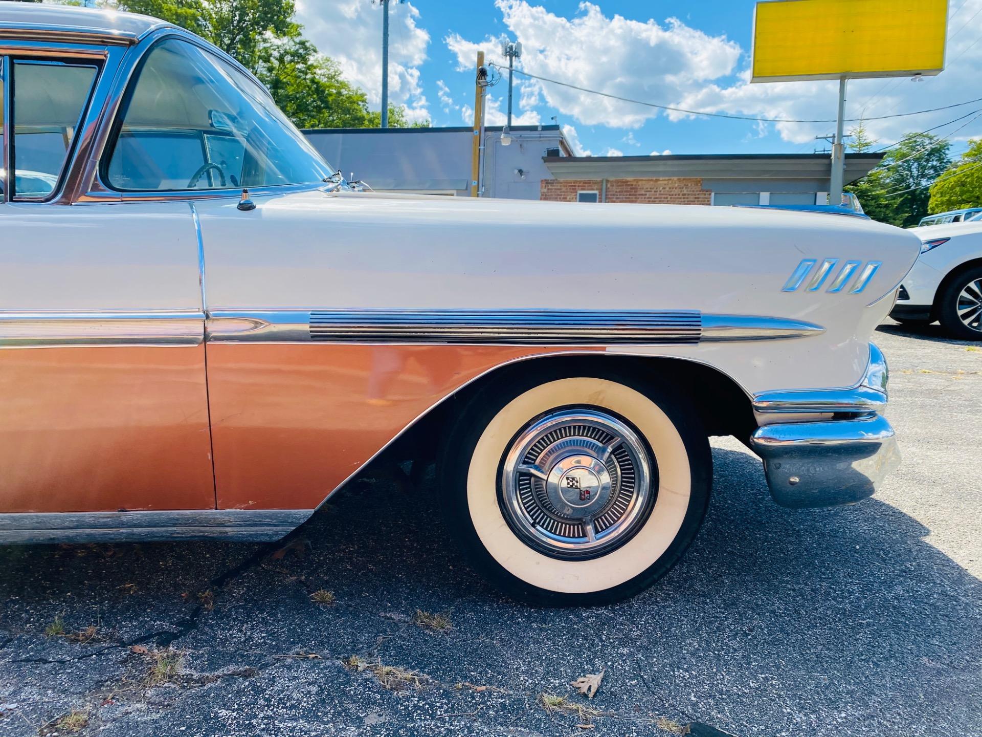 Used 1958 Chevrolet Bel Air - 4 DOOR SEDAN - 283 V8 ENGINE - | Mundelein, IL