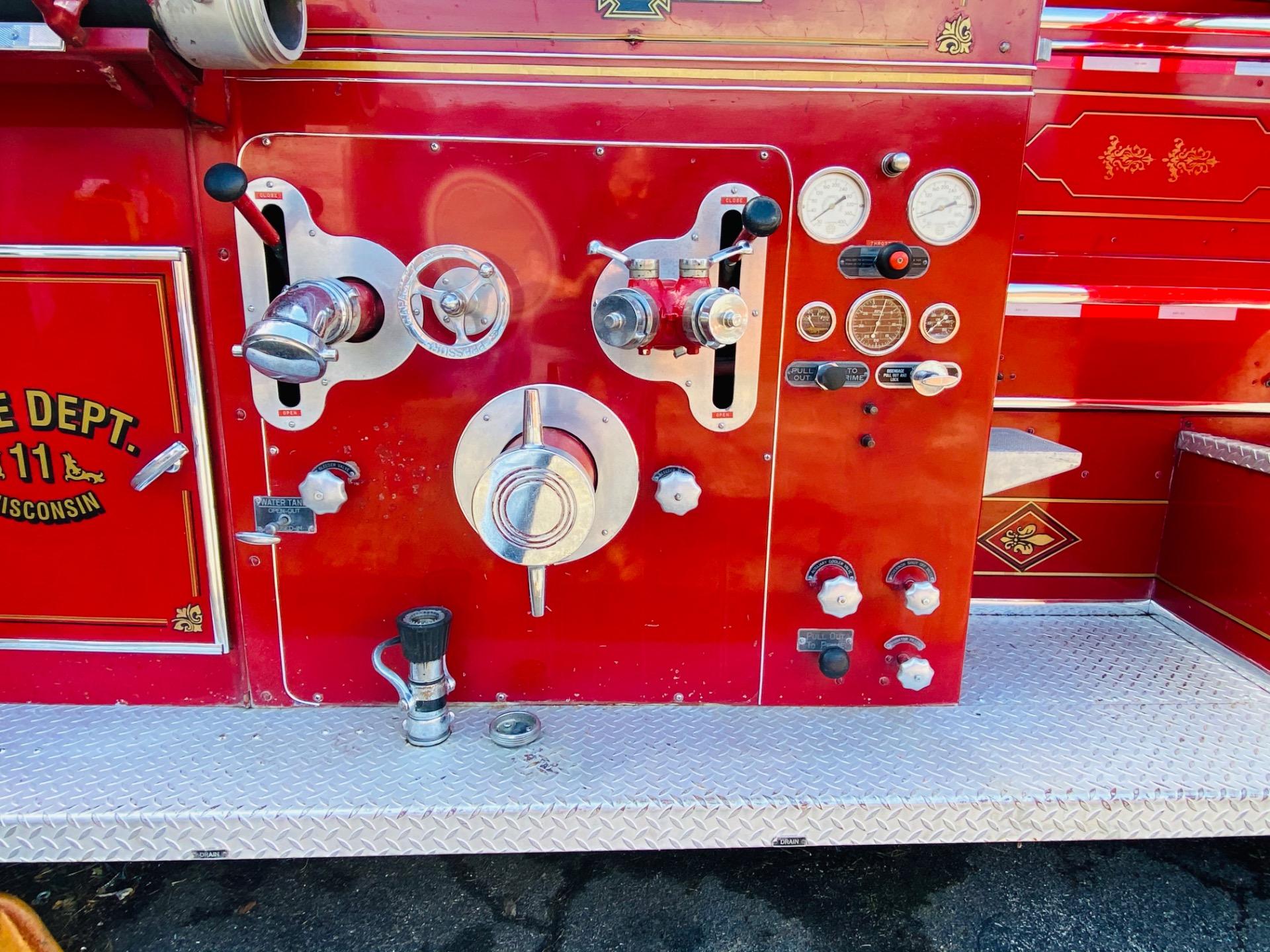 Used 1948 American LaFrance Fire Truck Wisconsin FD   Mundelein, IL