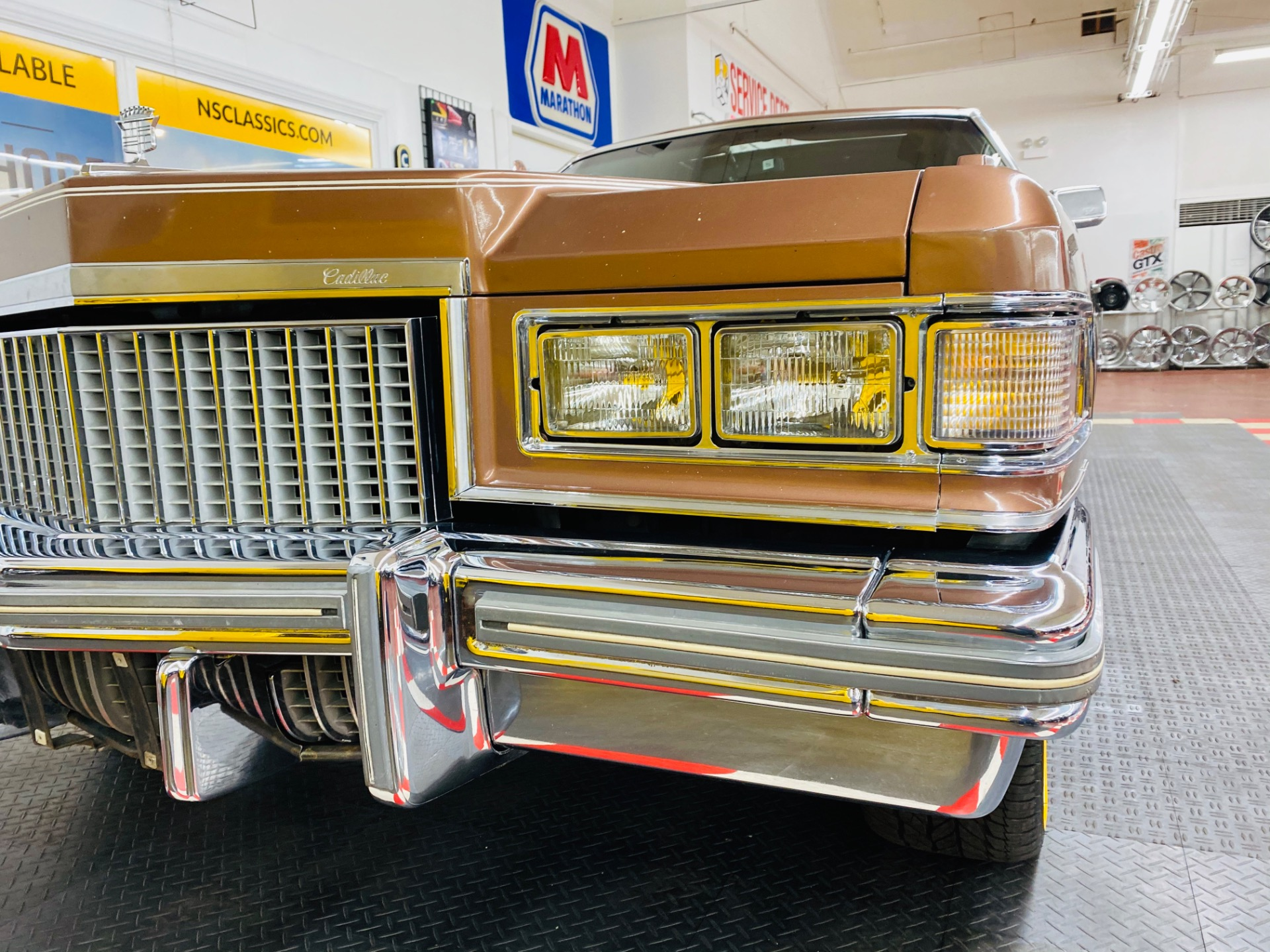 Used 1975 Cadillac DeVille - COUPE DEVILLE DELEGANCE - NEW WHEELS AND TIRES - DRIVES GREAT - SEE VIDEO | Mundelein, IL